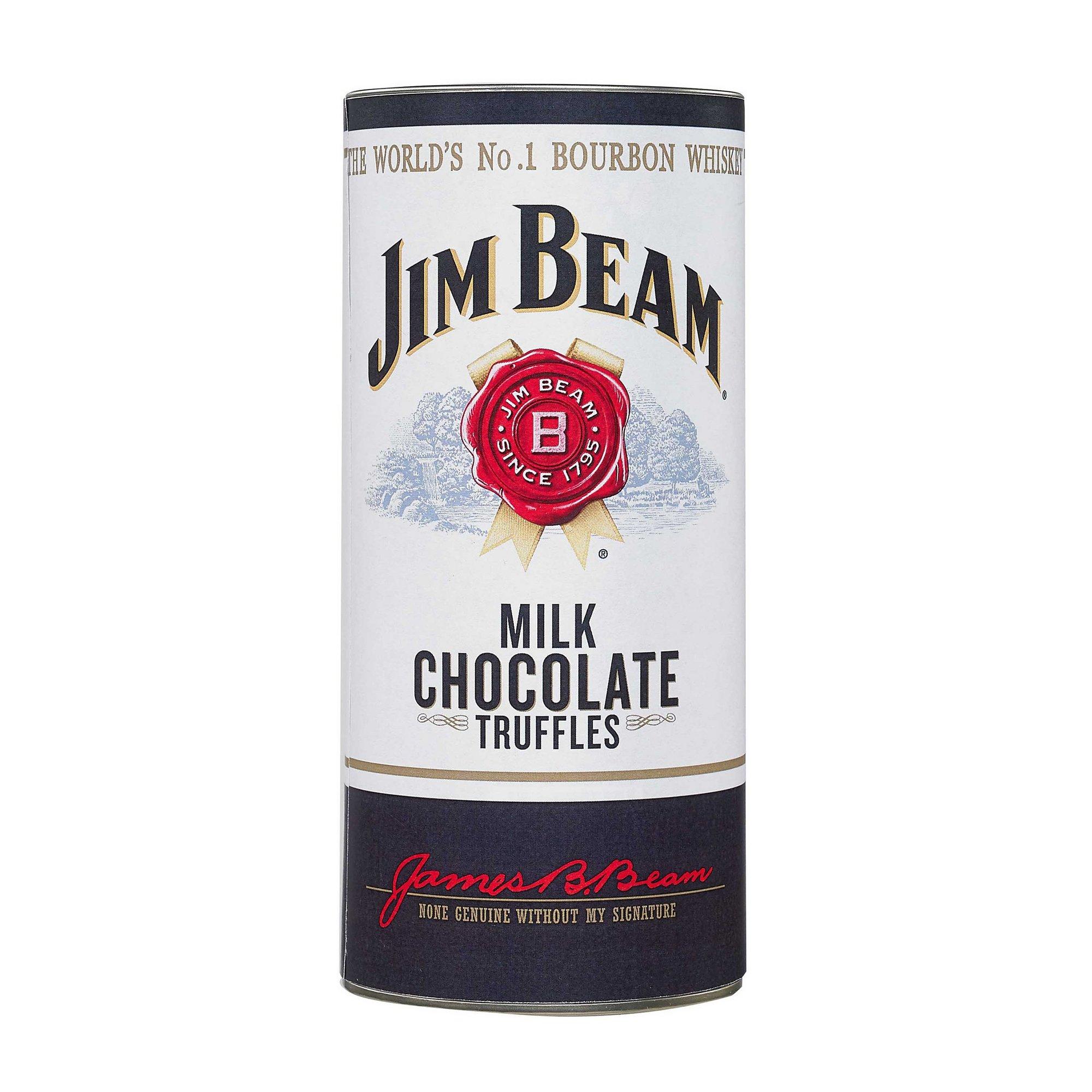 Image of Jim Beam Chocolate Truffles In Gift Tube