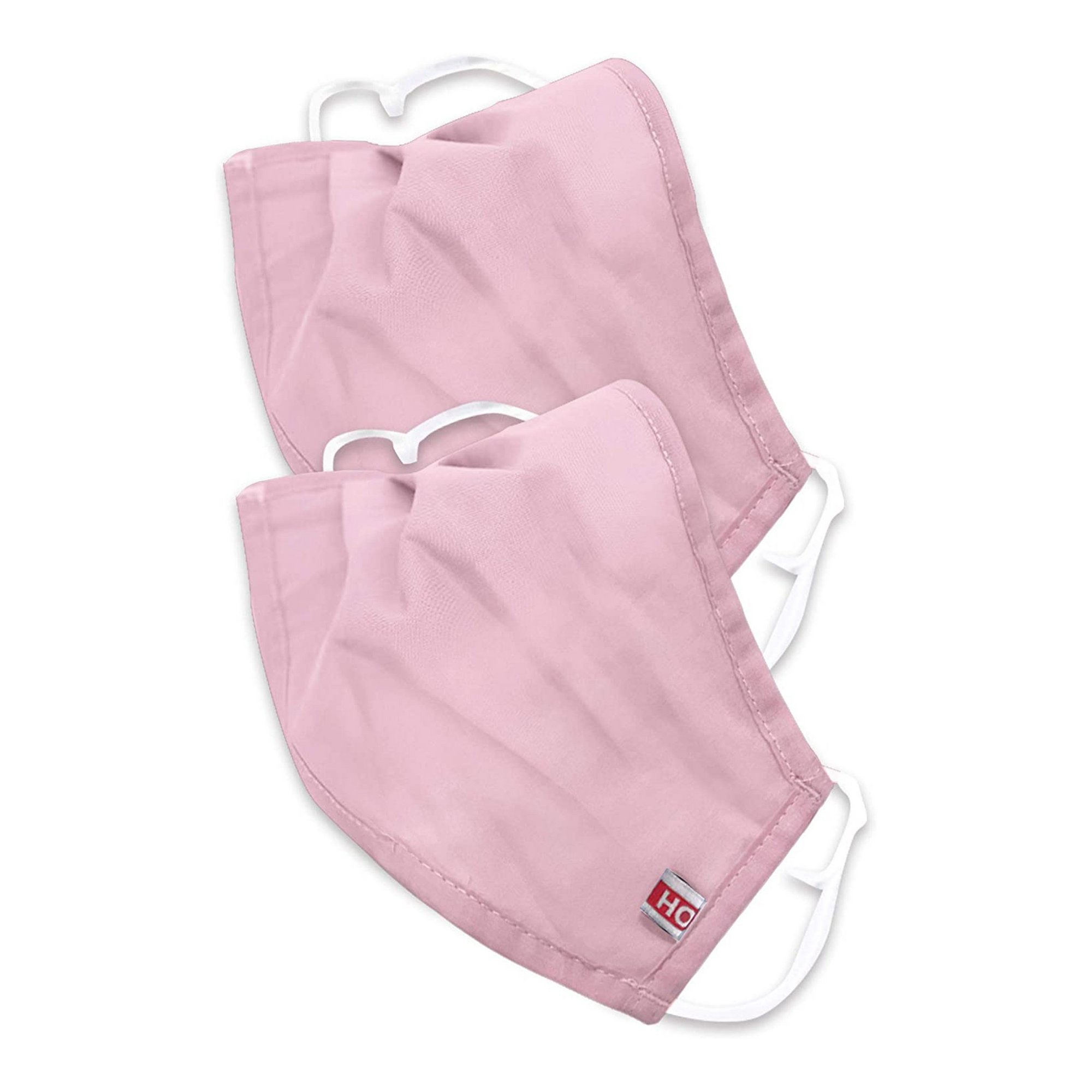 Image of Pack of 2 Pink Childrens Face Mask