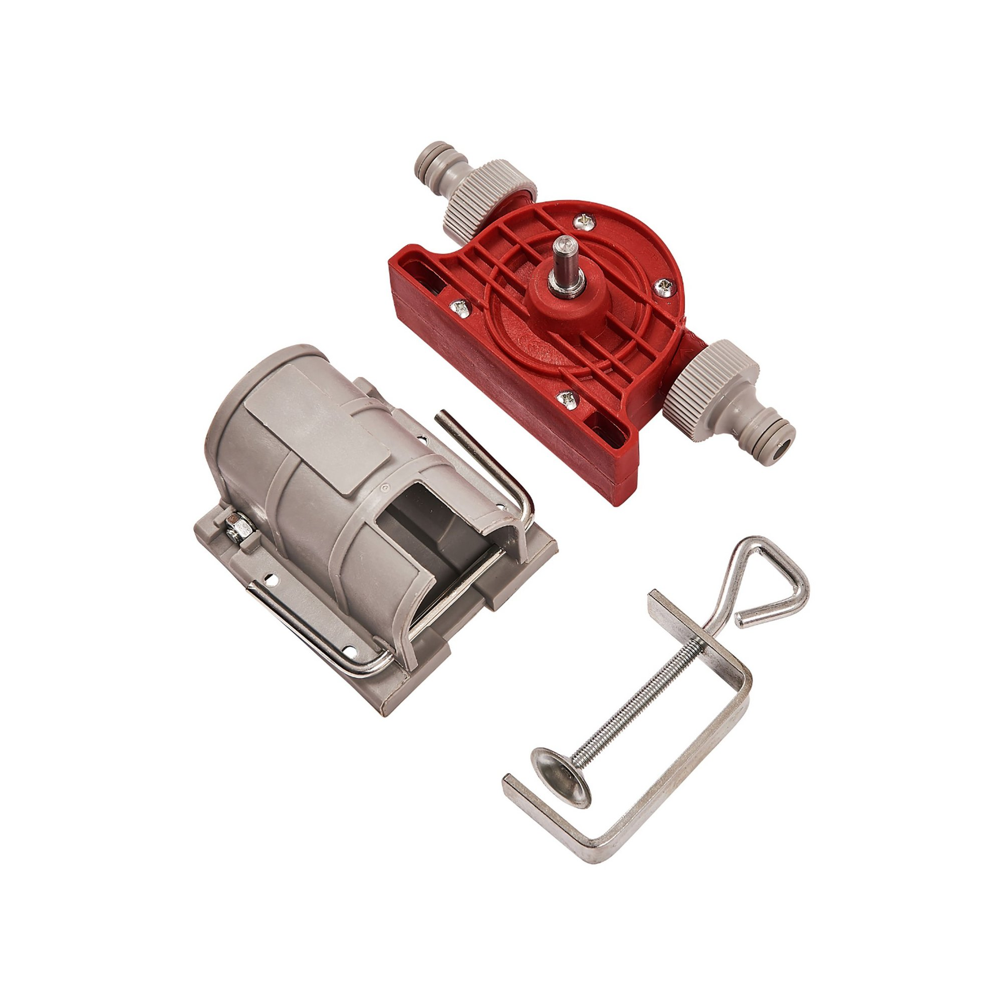 Image of Drill Powered Pump and Clamp