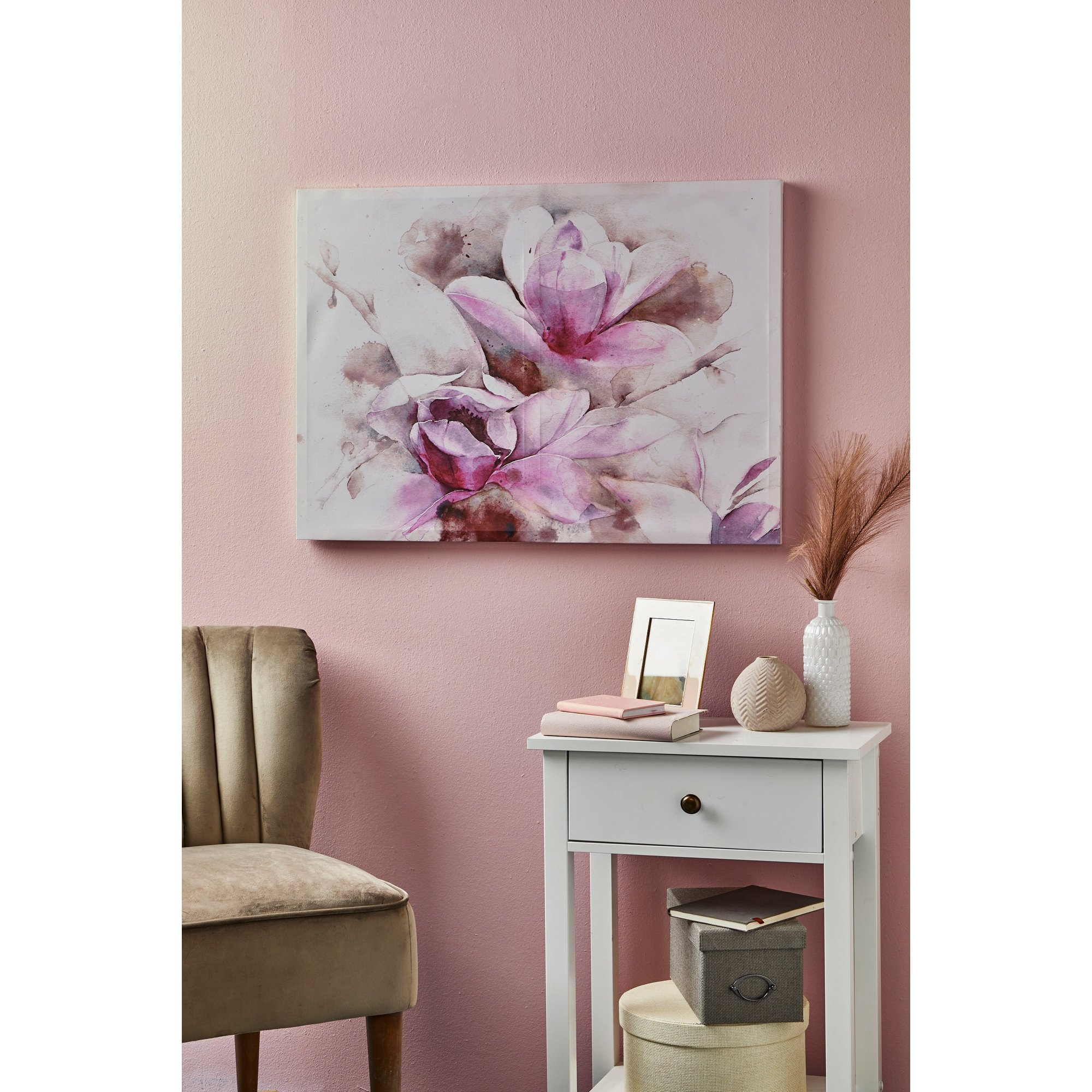 Image of Blossom Floral Canvas