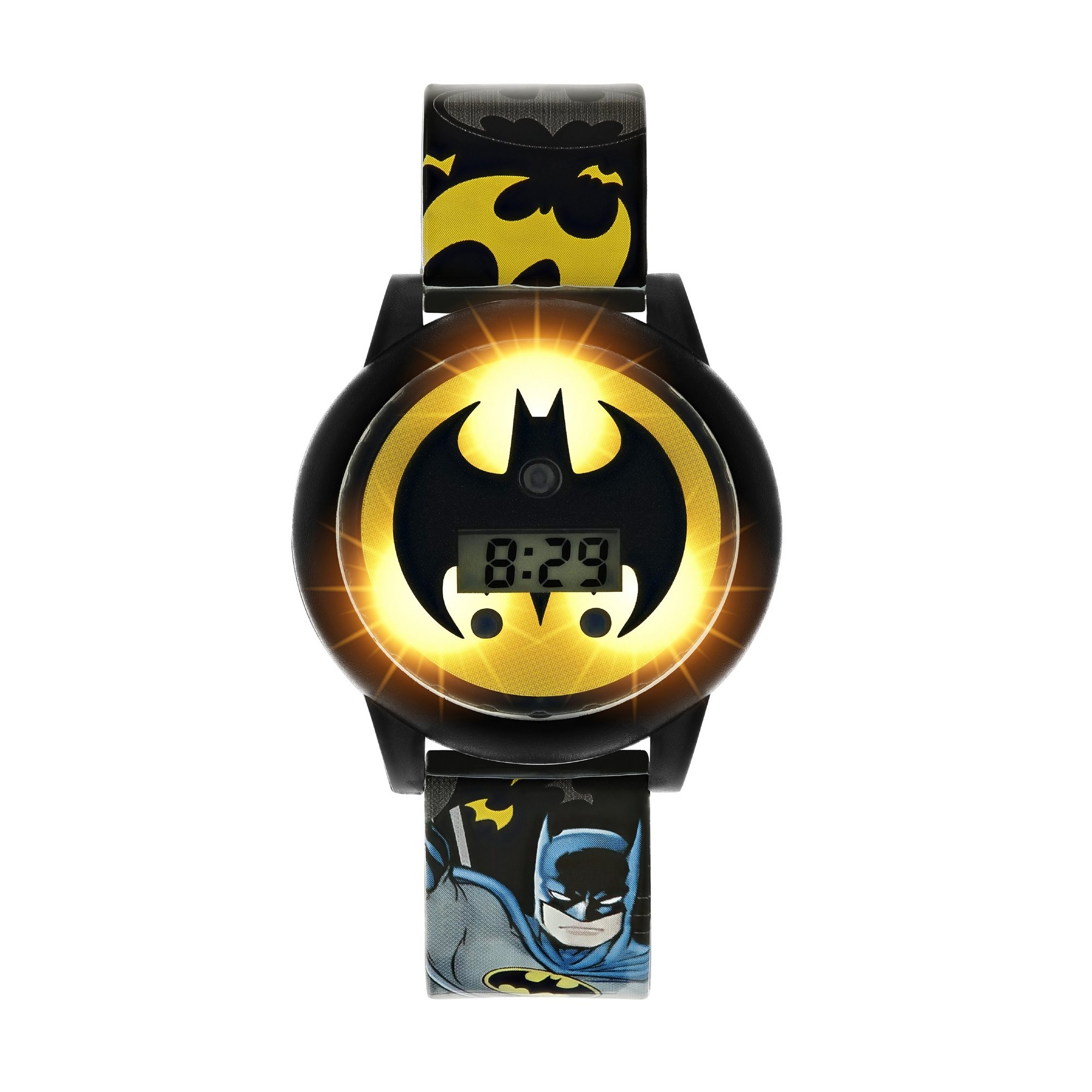 Image of Batman Flash and Spin Digital Watch