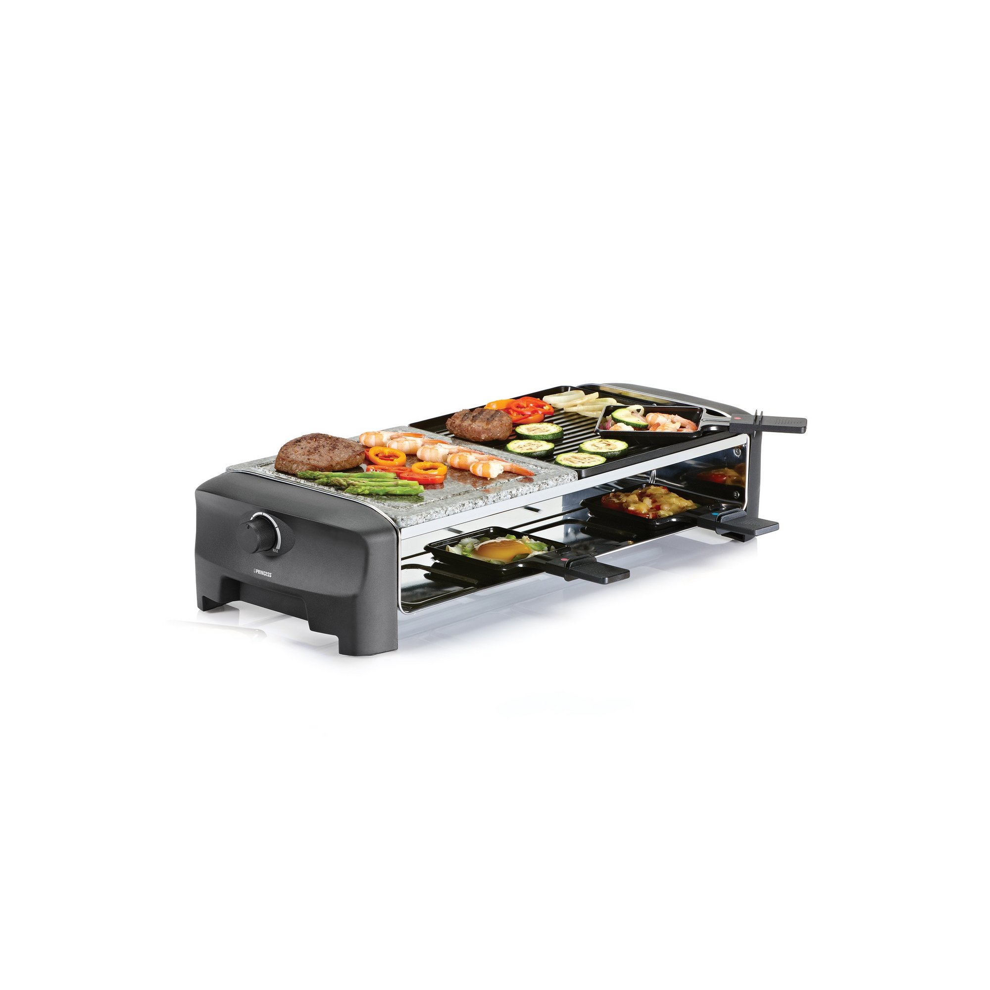 Image of Princess Raclette 8 Person Stone and Grill Party