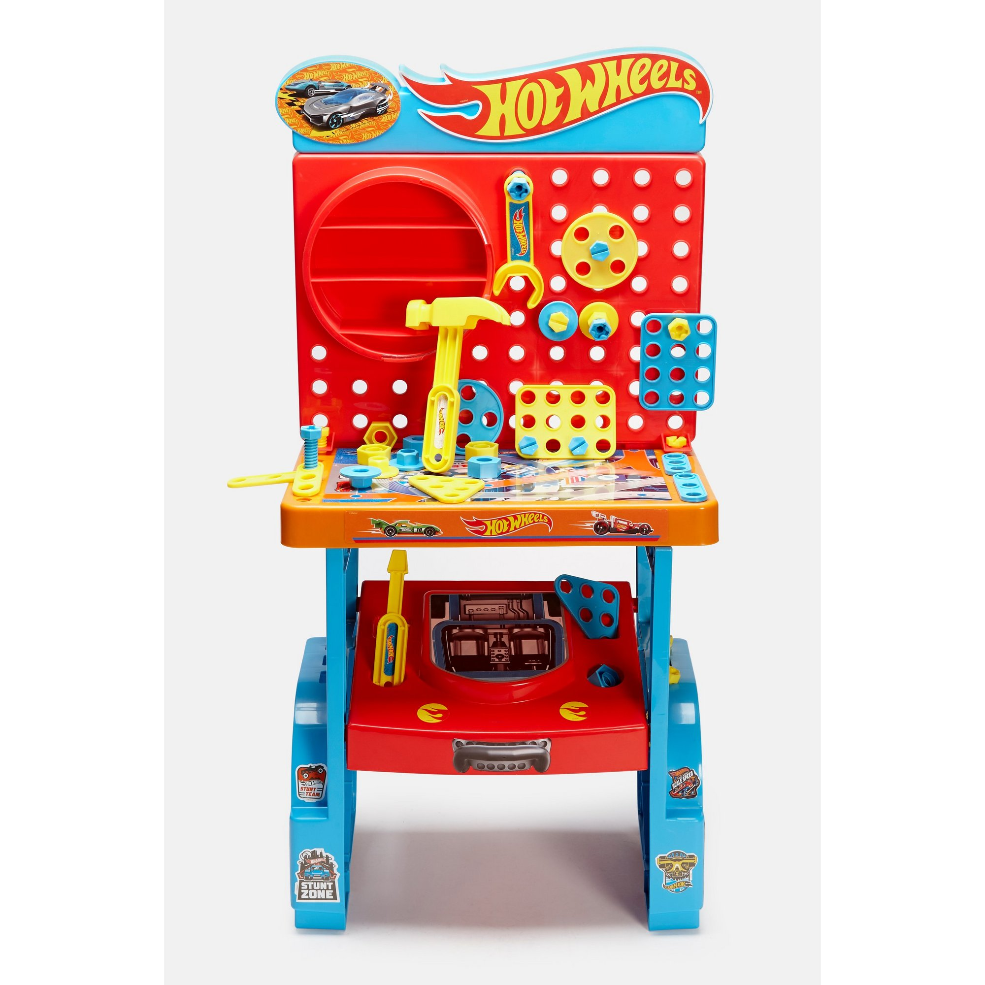 Image of Hot Wheels Mega Service Garage Toolbench
