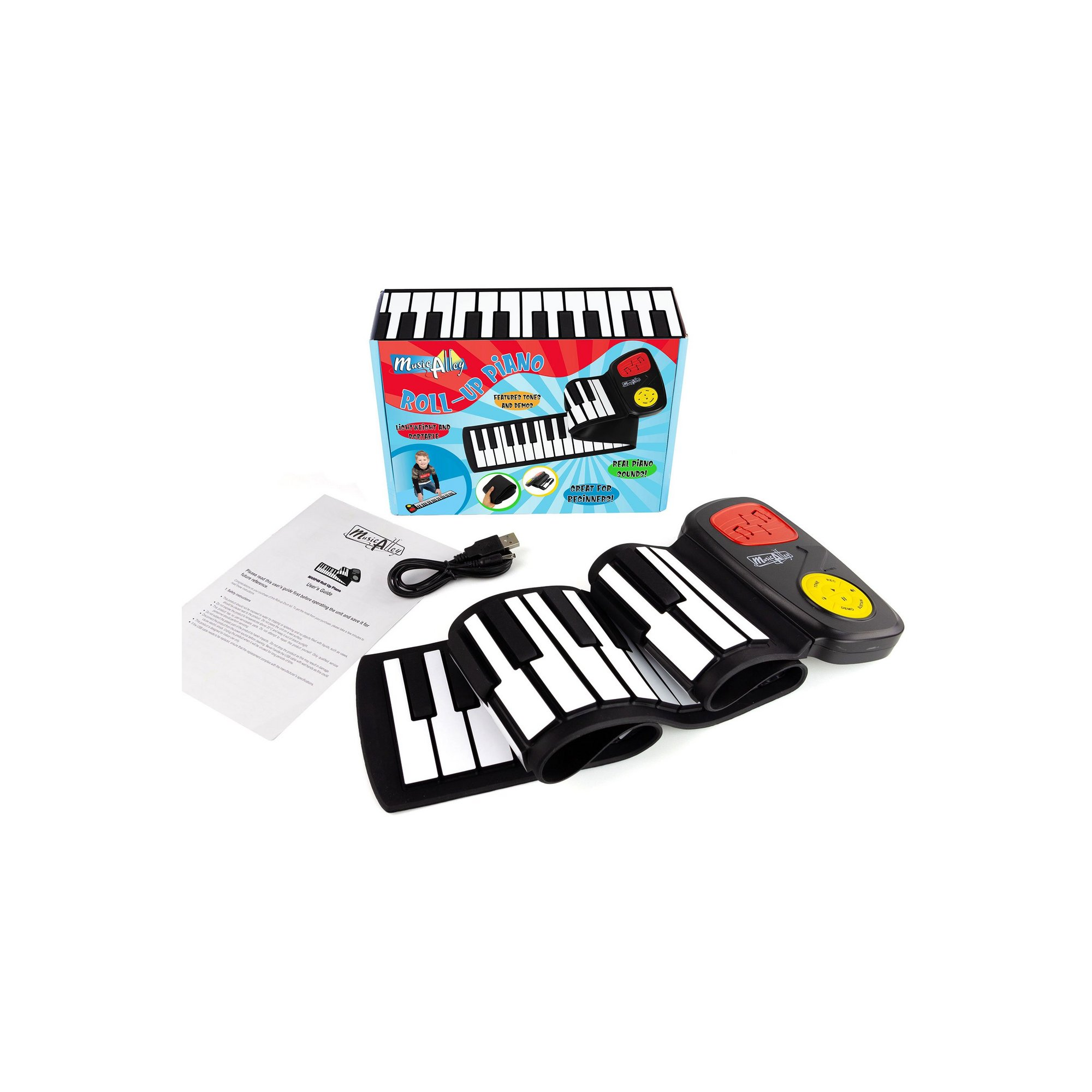 Image of Music Alley Roll Up Piano