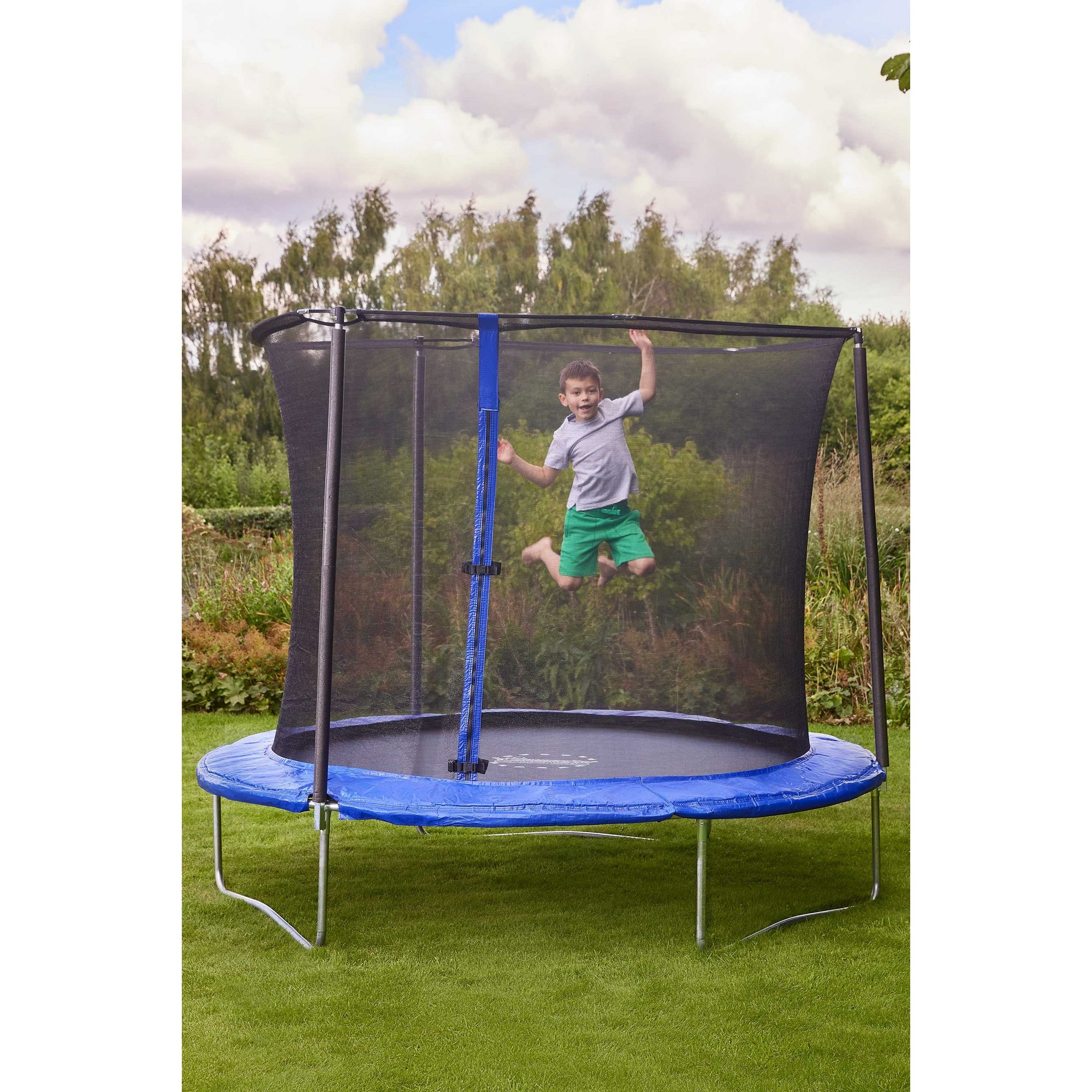 Image of Sportspower 8ft Bounce Pro Trampoline with Enclosure