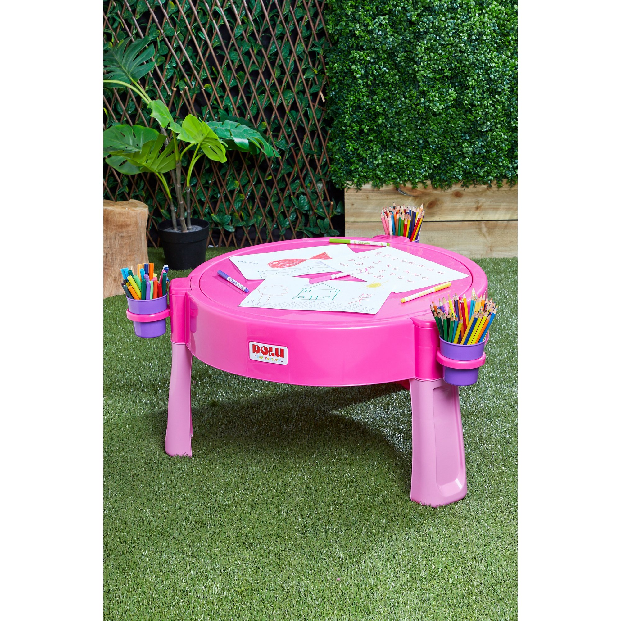 Image of Dolu Water and Sand Pink Activity Table