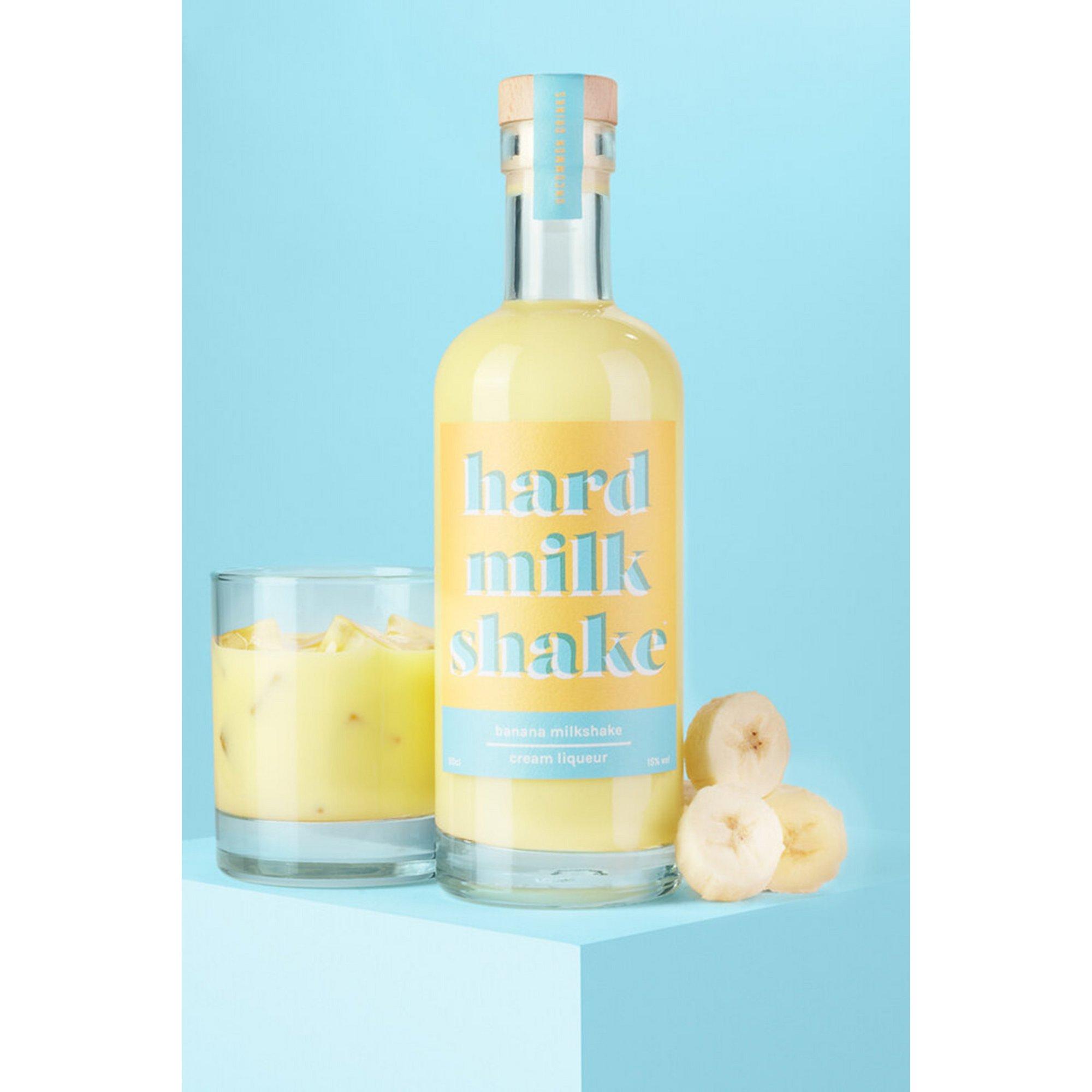 Image of Banana Liqueur Hard Milkshake 50cl