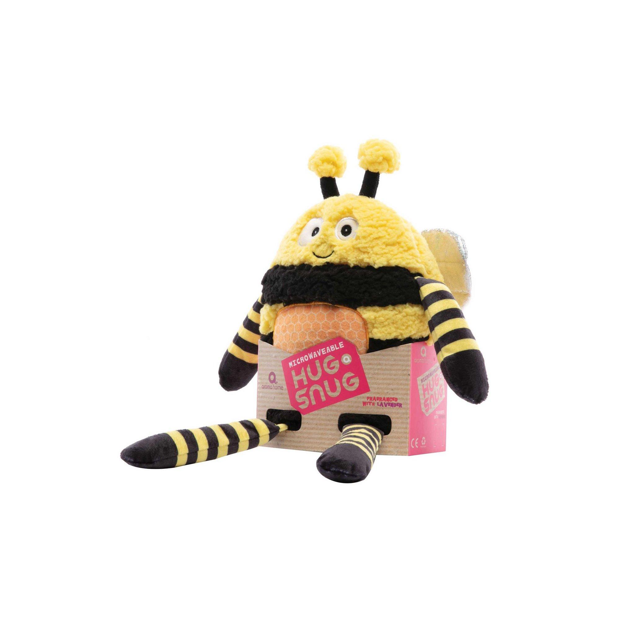 Image of Bumble Bee Heatable Scented Hug a Snug