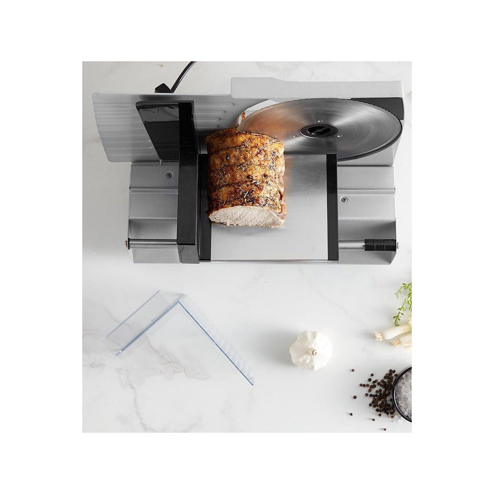 Image of VonShef Stainless Steel Meat Slicer