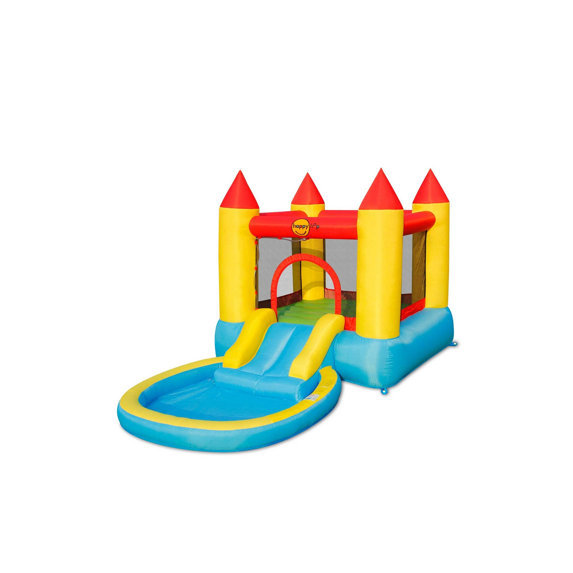 Image of Bouncy Castle with Pool and Slide