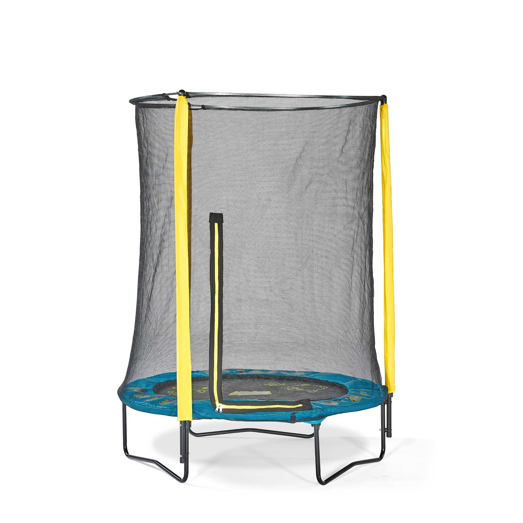 Image of Plum Minions 4.5ft Trampoline