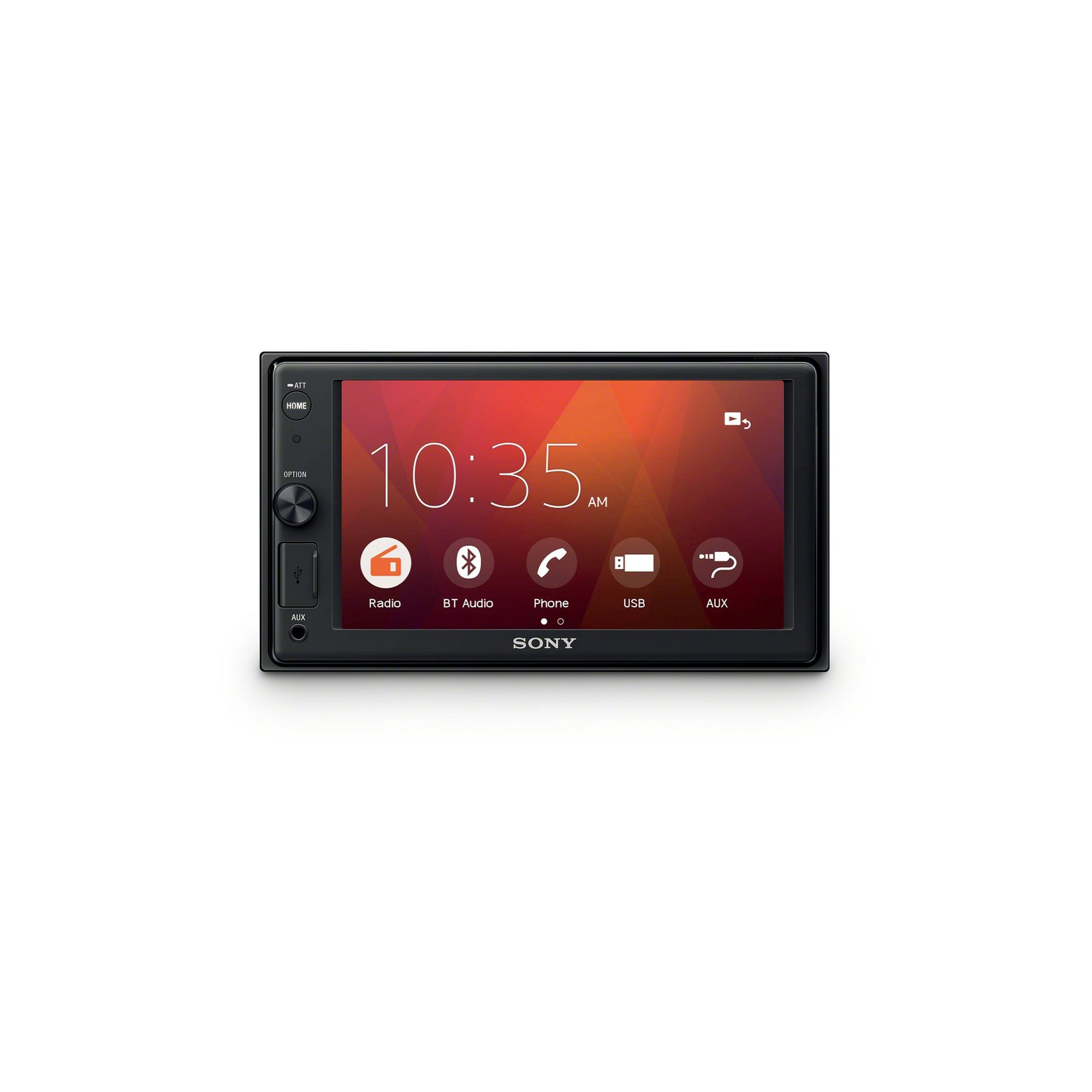 Image of Sony XAV-1500 Bluetooth Car Stereo with WebLink Cast
