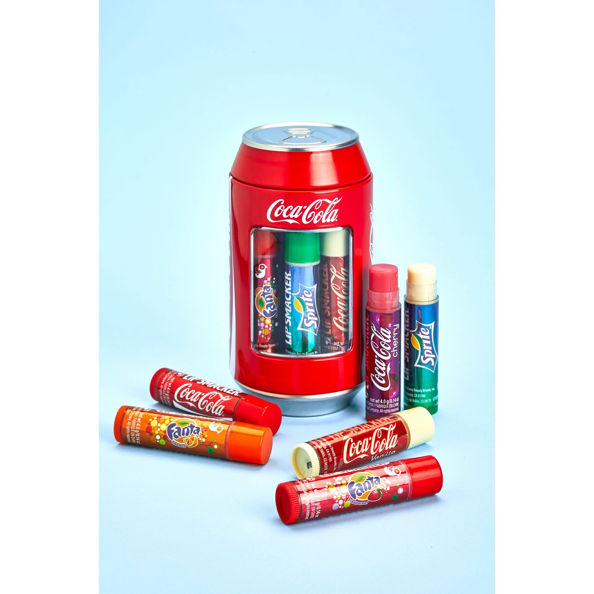 Image of Coca-Cola Can Lip Smacker Set