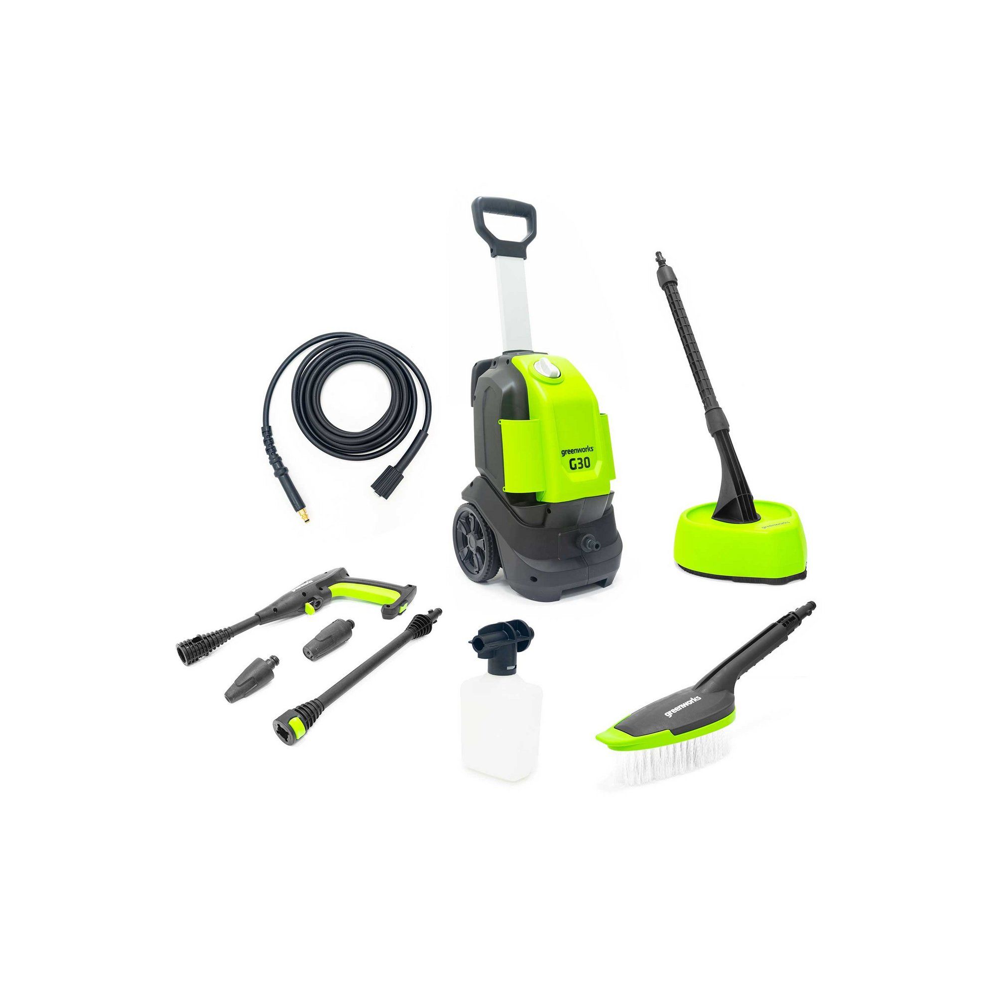 Image of Greenworks 120 bar G30 Home and Car Pressure Washer