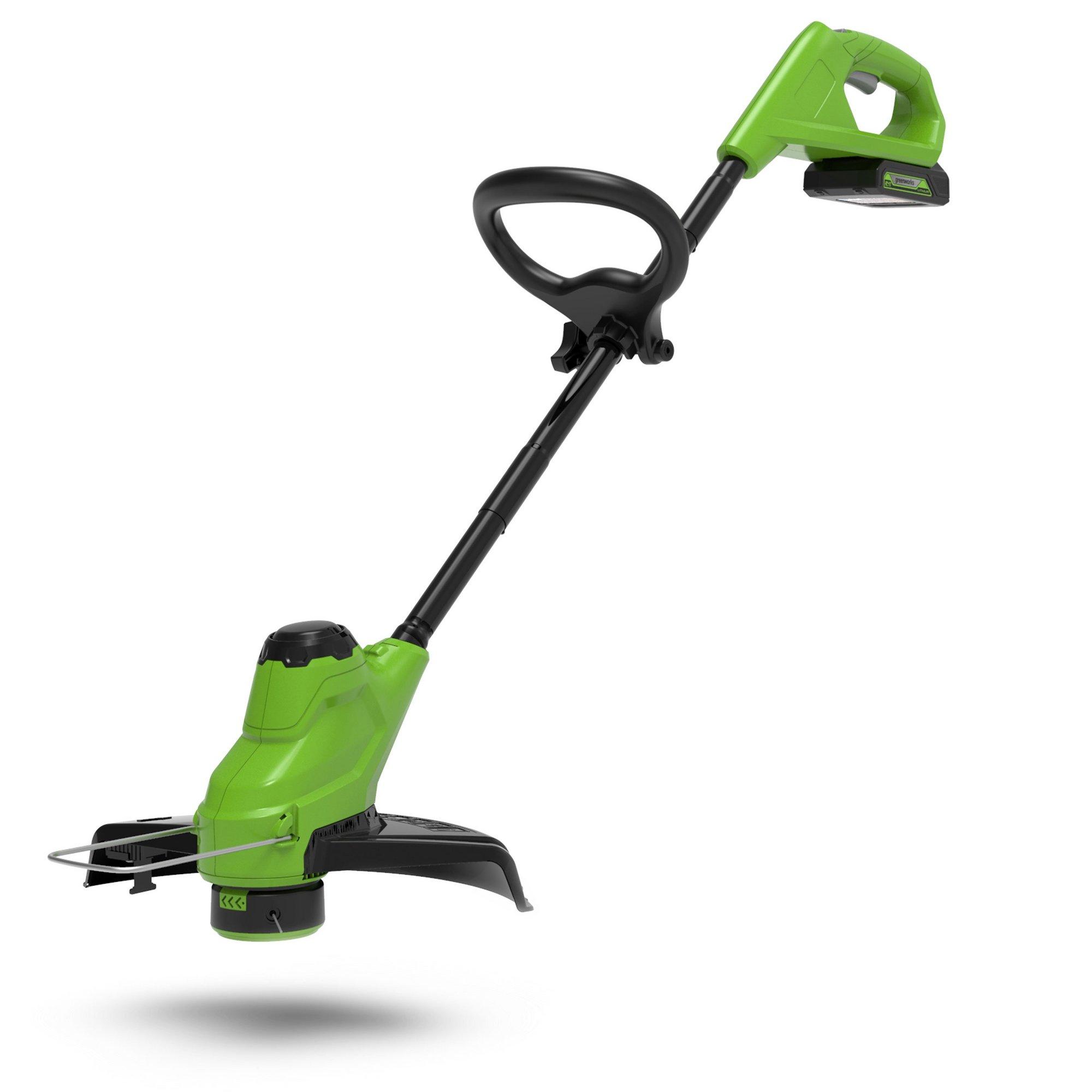 Image of Greenworks 24v Cordless 23cm Line Trimmer