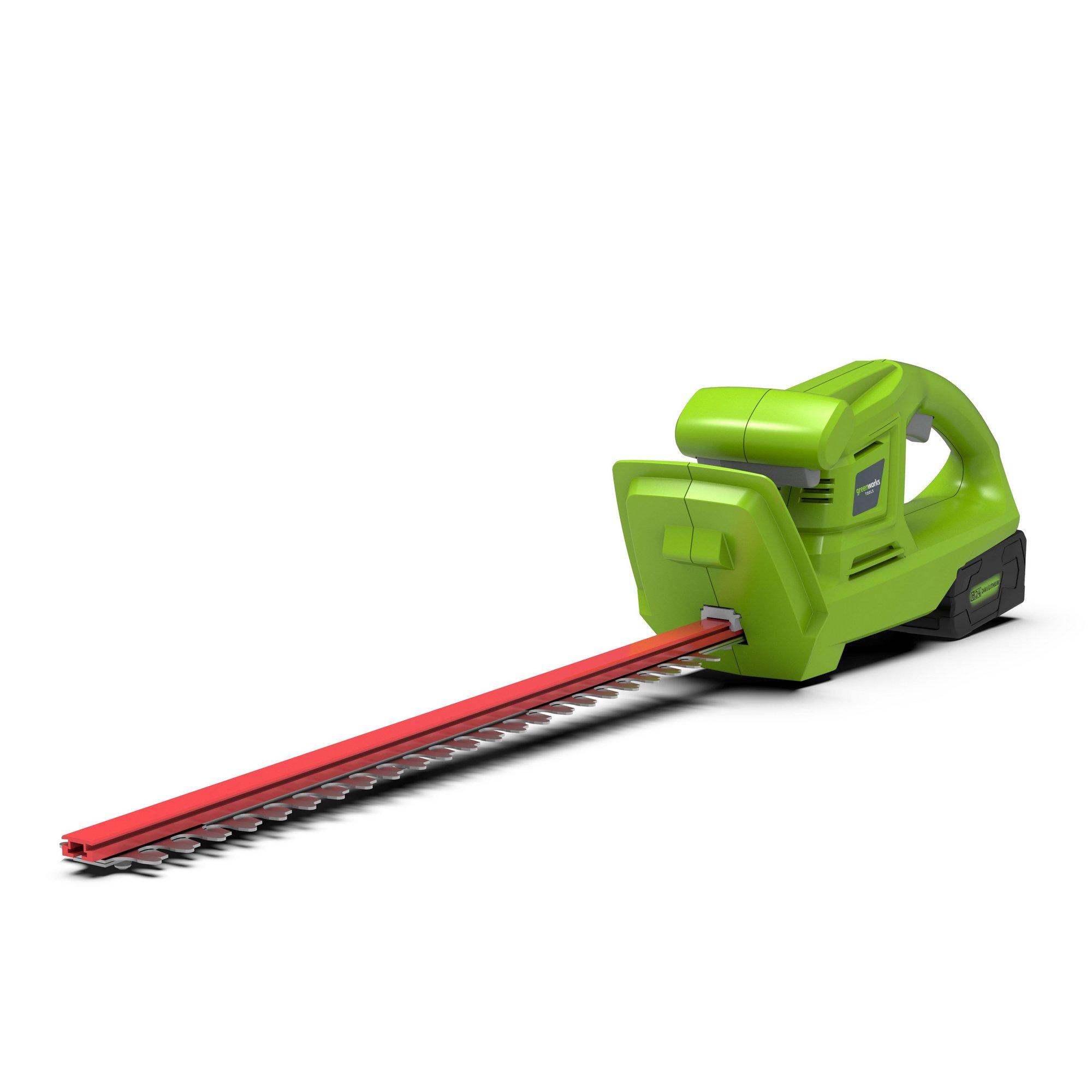 Image of Greenworks 24V Cordless 51cm Hedge Trimmer