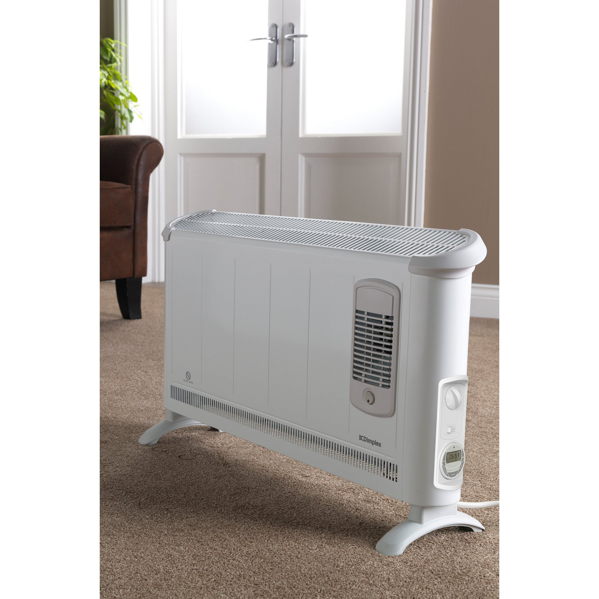 Image of Dimplex 3000W Convector Heater with Turbo Fan and Timer