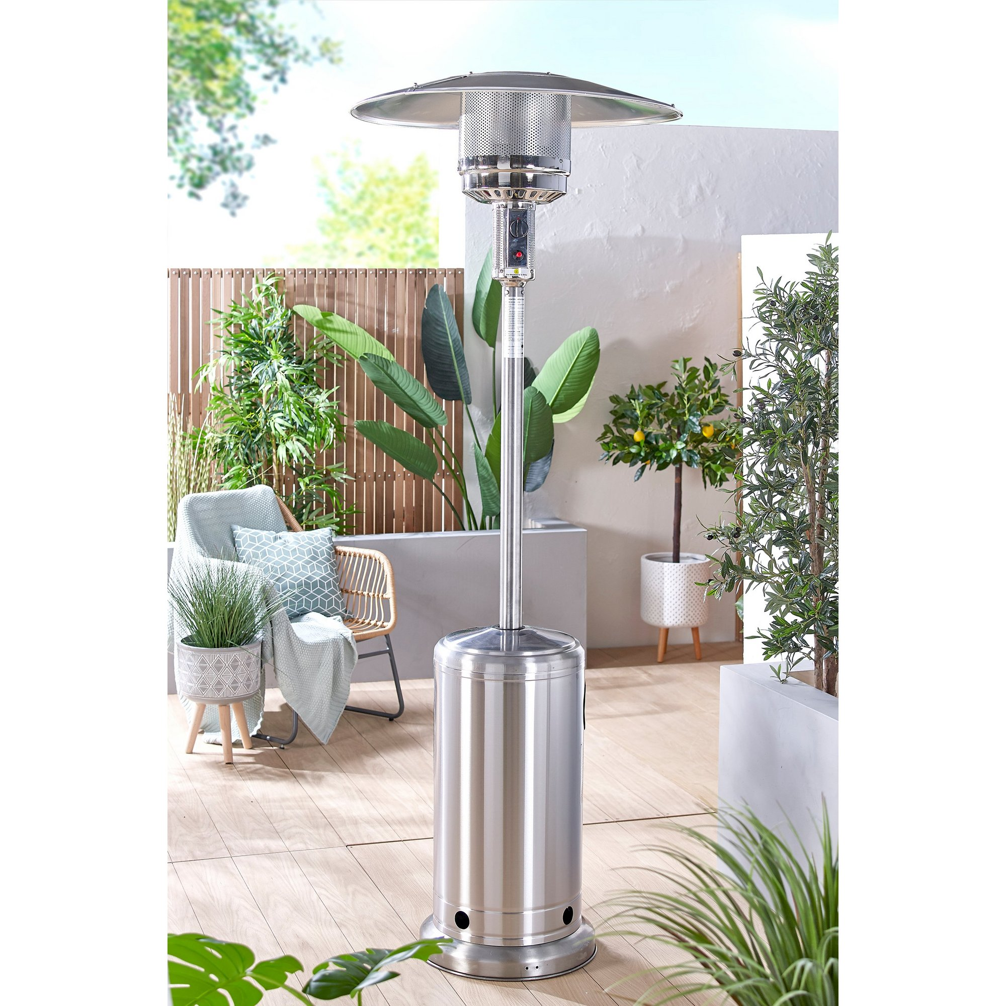 Image of Mushroom Gas Outdoor Patio Heater