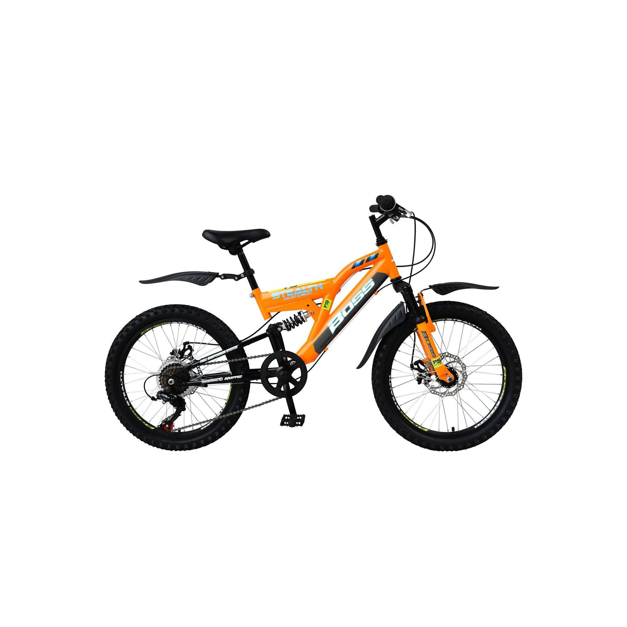 Image of Boss Stealth 20 Inch Orange Mountain Bike