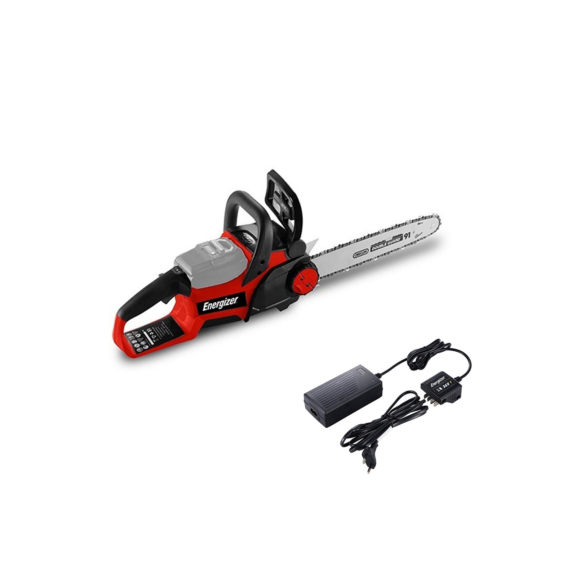 Image of Energizer Cordless Chainsaw