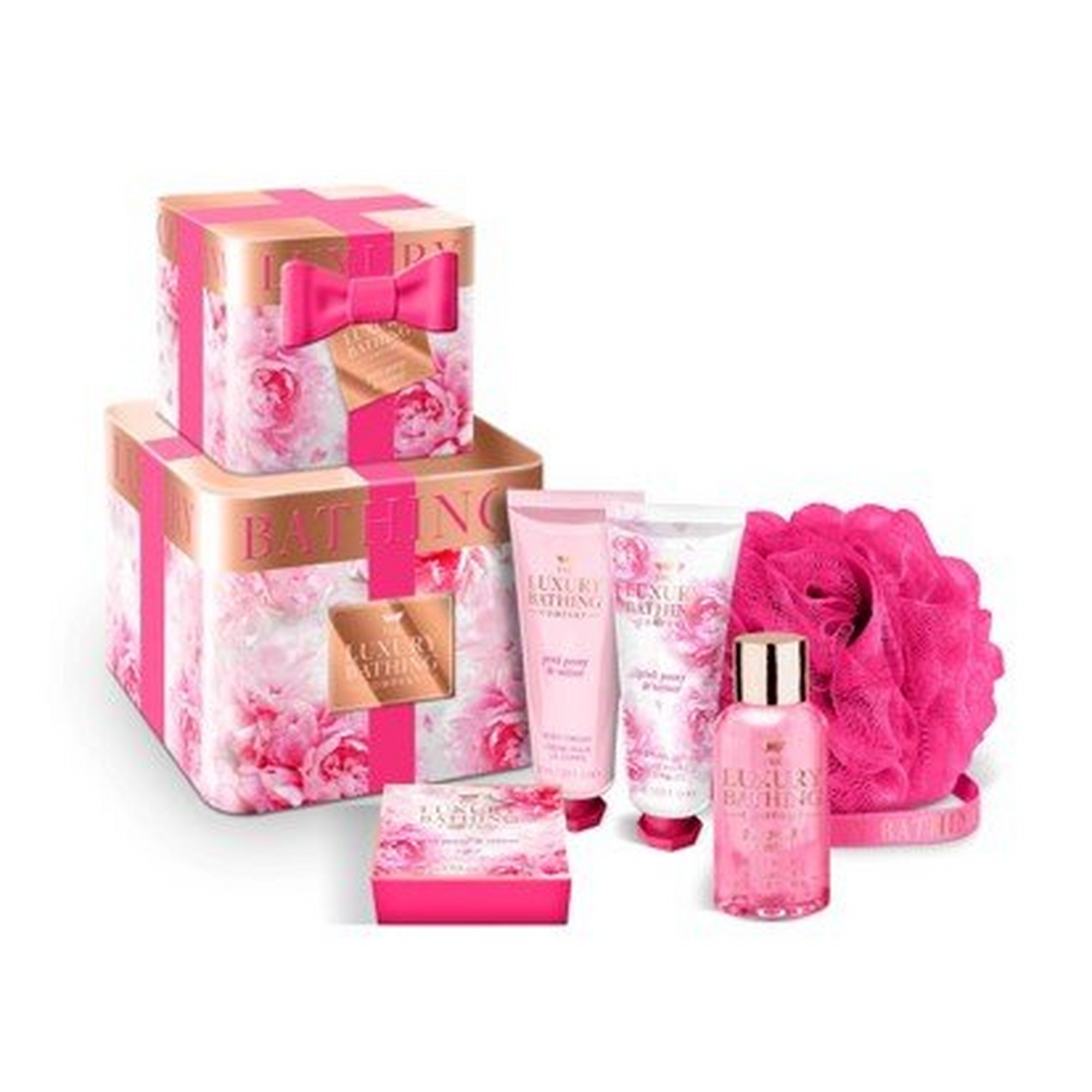 Image of Grace Cole Luxury Bathing Collection Bathing Blossoms Gift Set