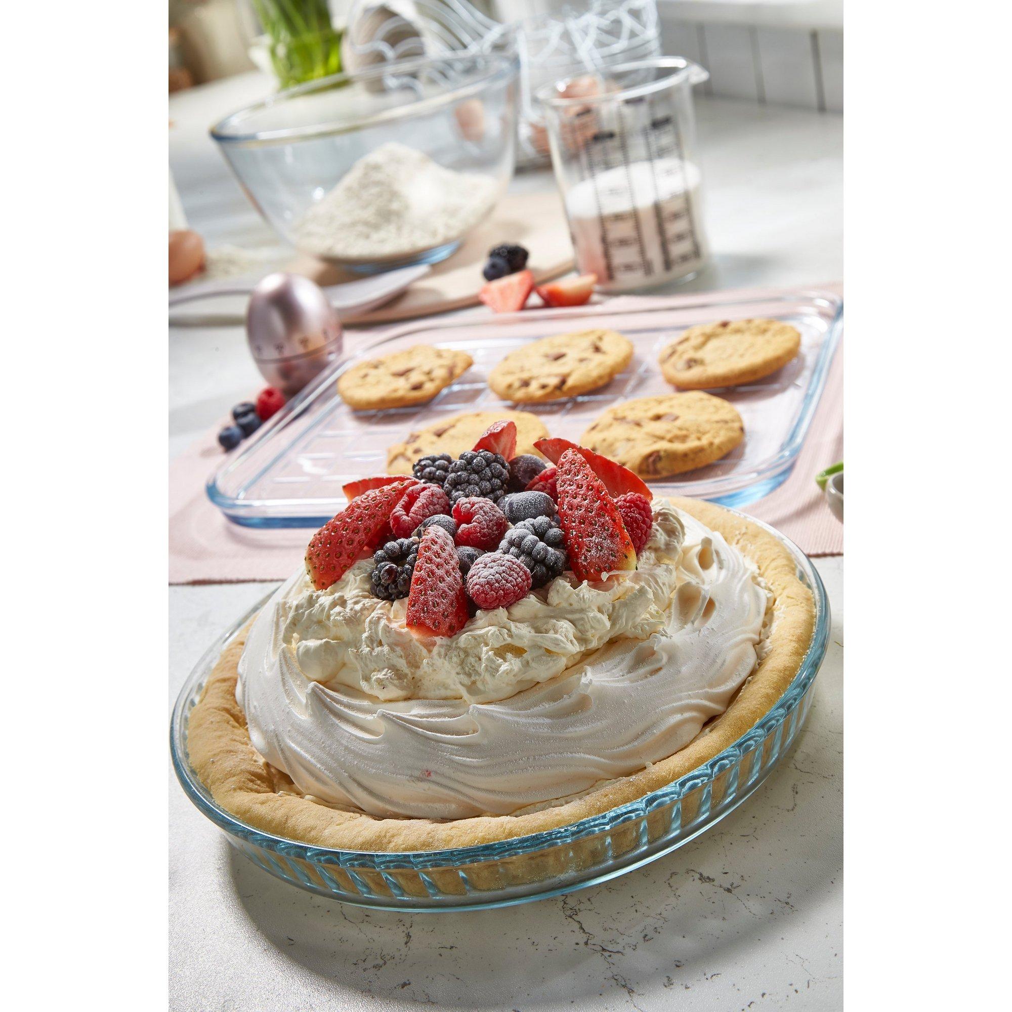 Image of Pyrex 25cm Quiche/Flan Dish