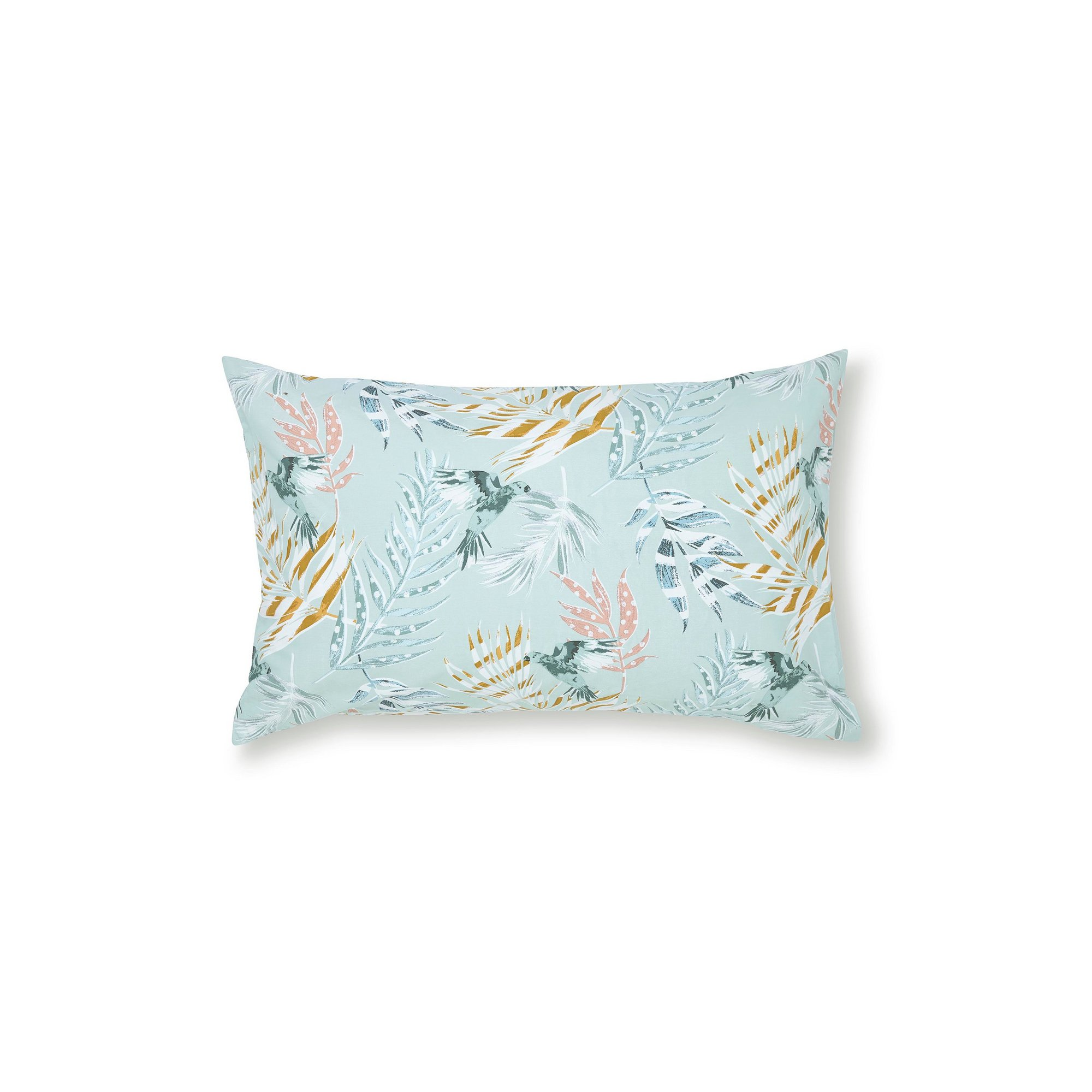 Image of Pair of Fat Face Paradise Parrot Standard Pillowcases