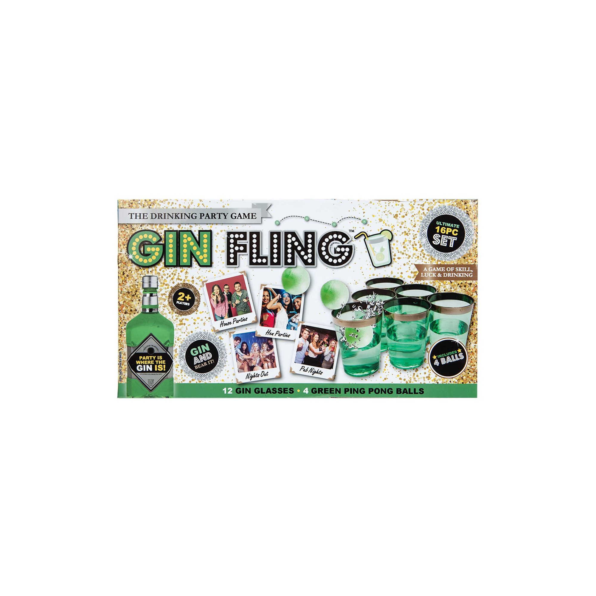 Image of Gin Fling Party Drinking Game