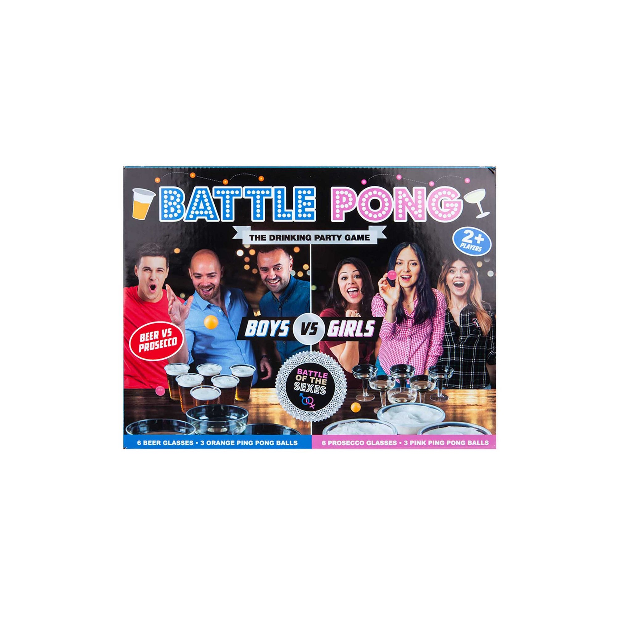 Image of Battle Pong Drinking Party Game