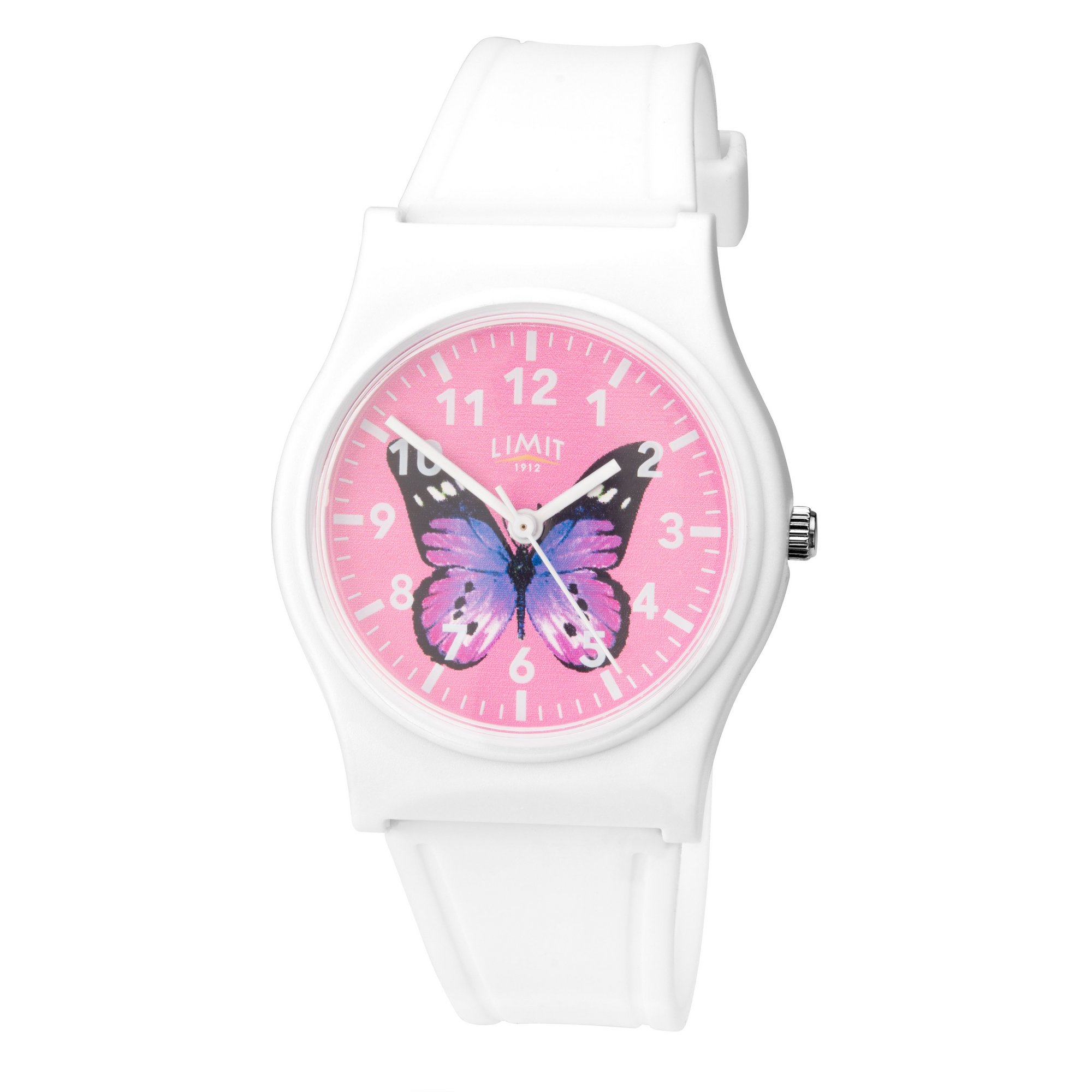 Image of Limit Ladies White Butterfly Watch