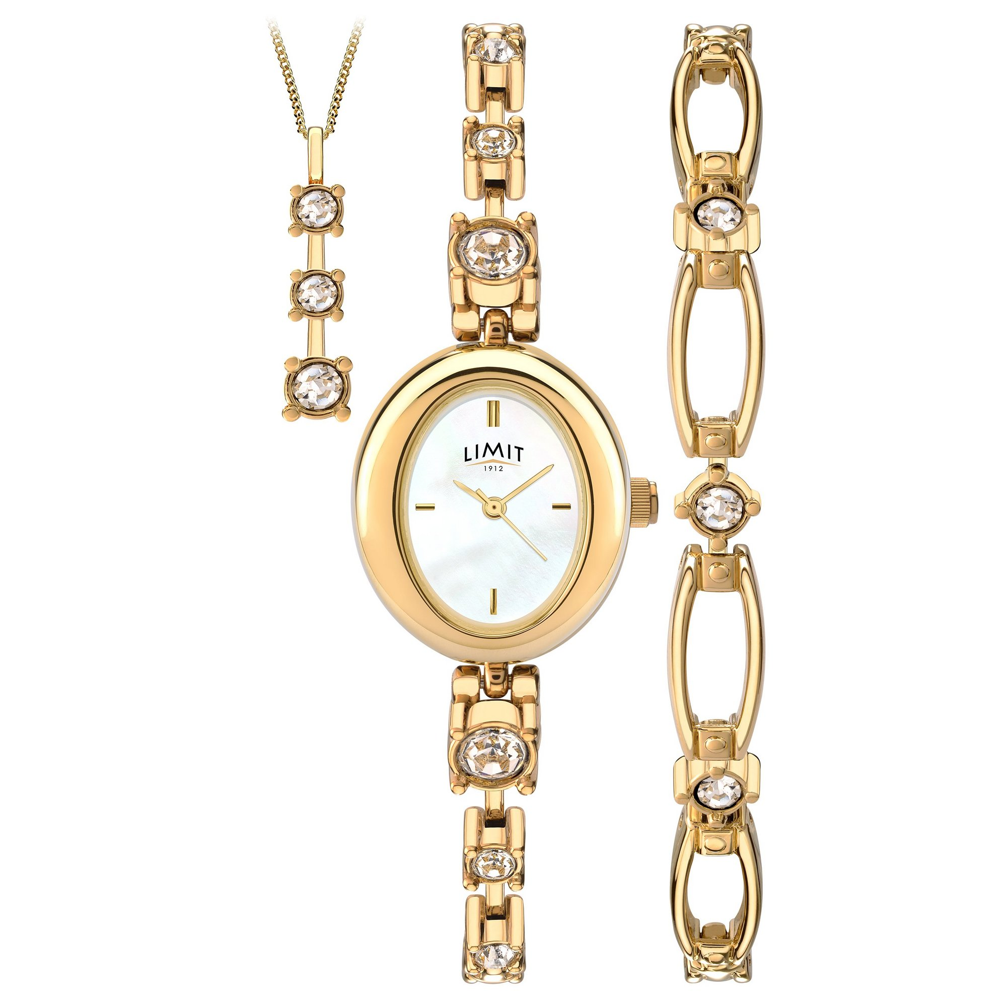 Image of Limit Ladies Gold Plated Watch Gift Set