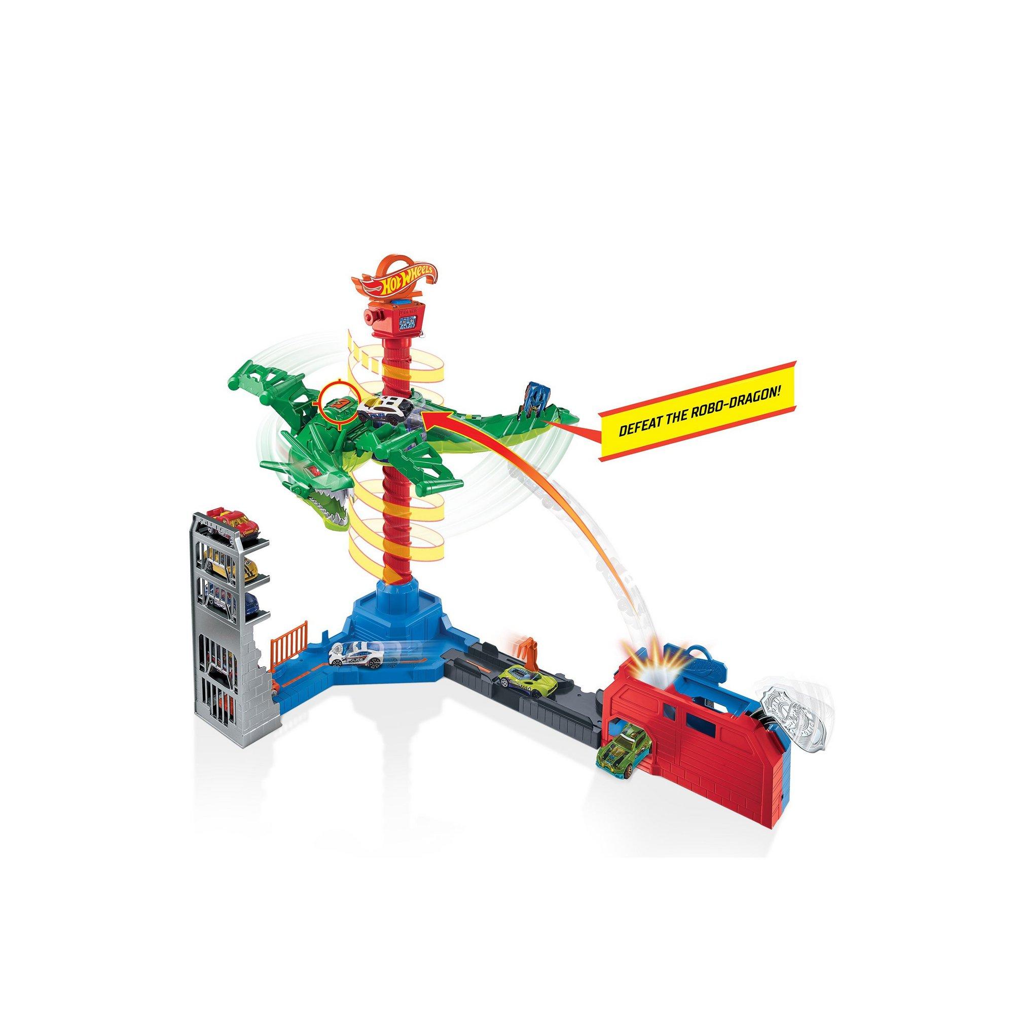 Image of Hot Wheels City Air Attack Dragon