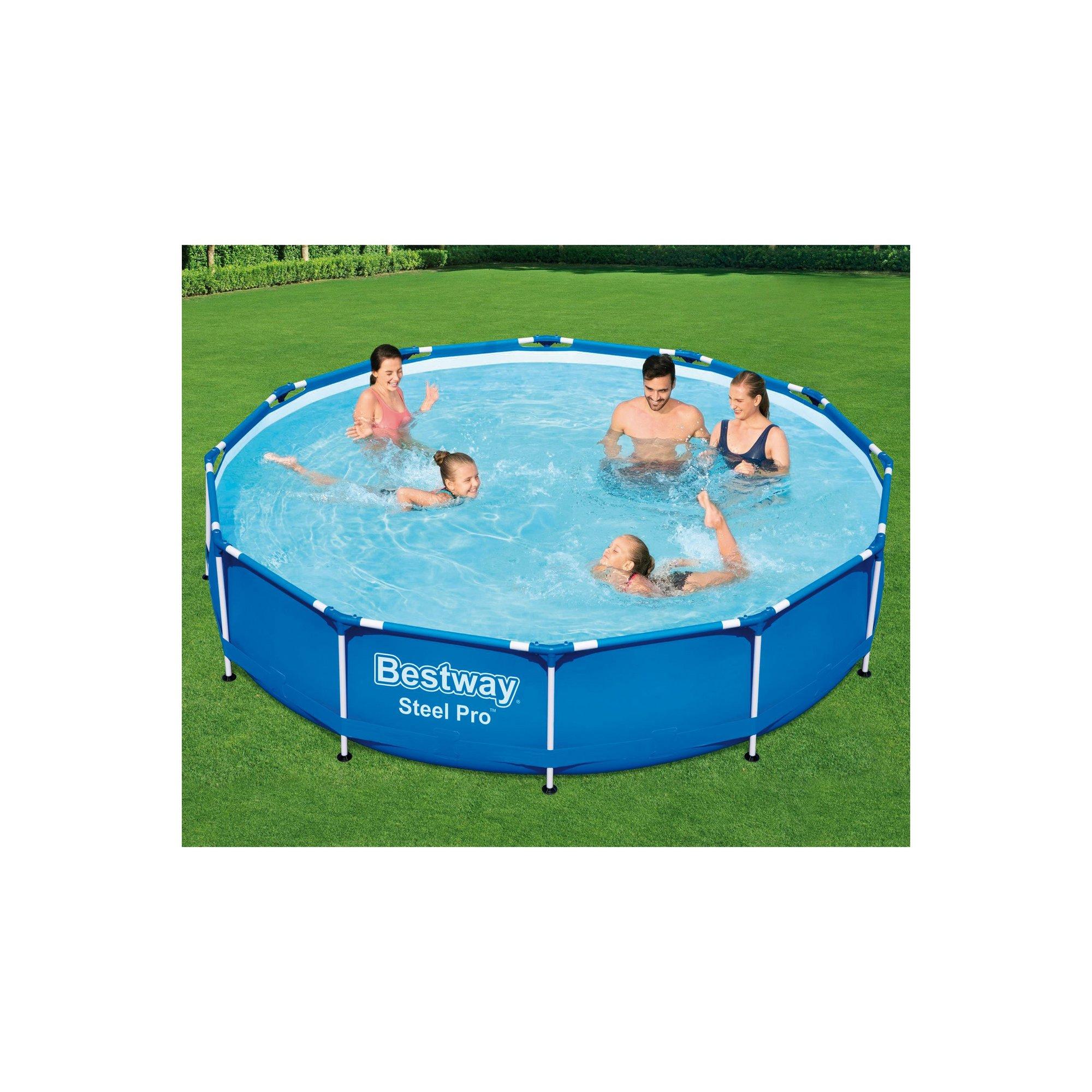 Image of Bestway 12ft Steel Pro Swimming Pool