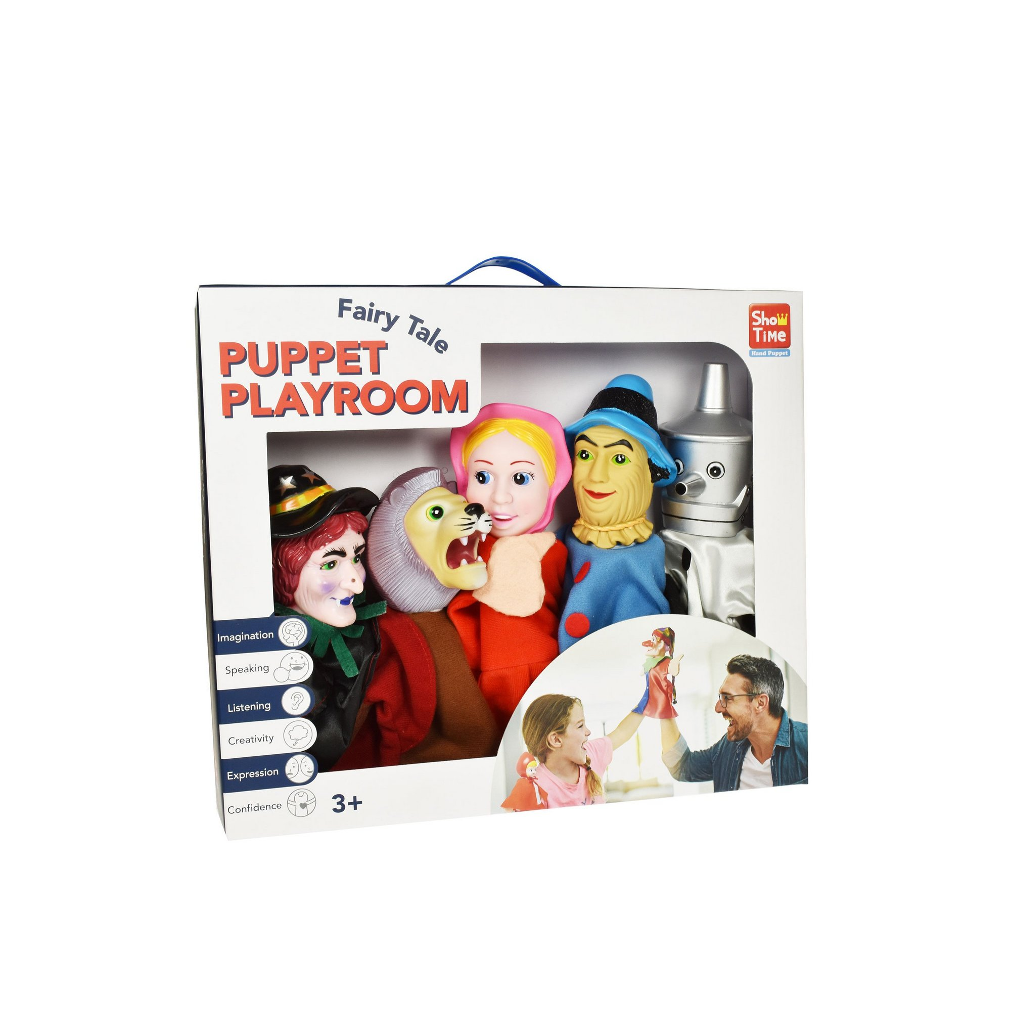 Image of 5 Large Wizard Of Oz Hand Puppets