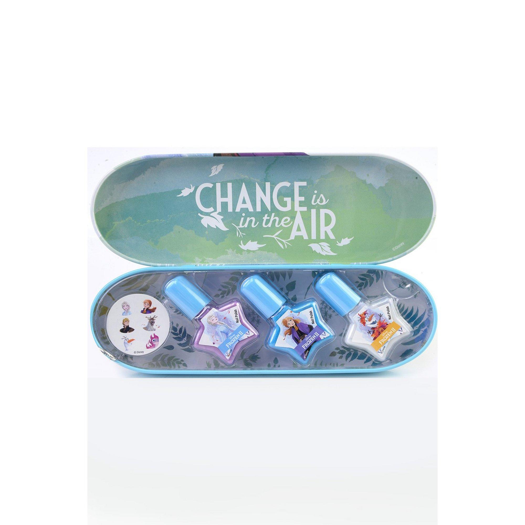 Image of Disney Frozen Enchanting Destinations Nail Polish Tin