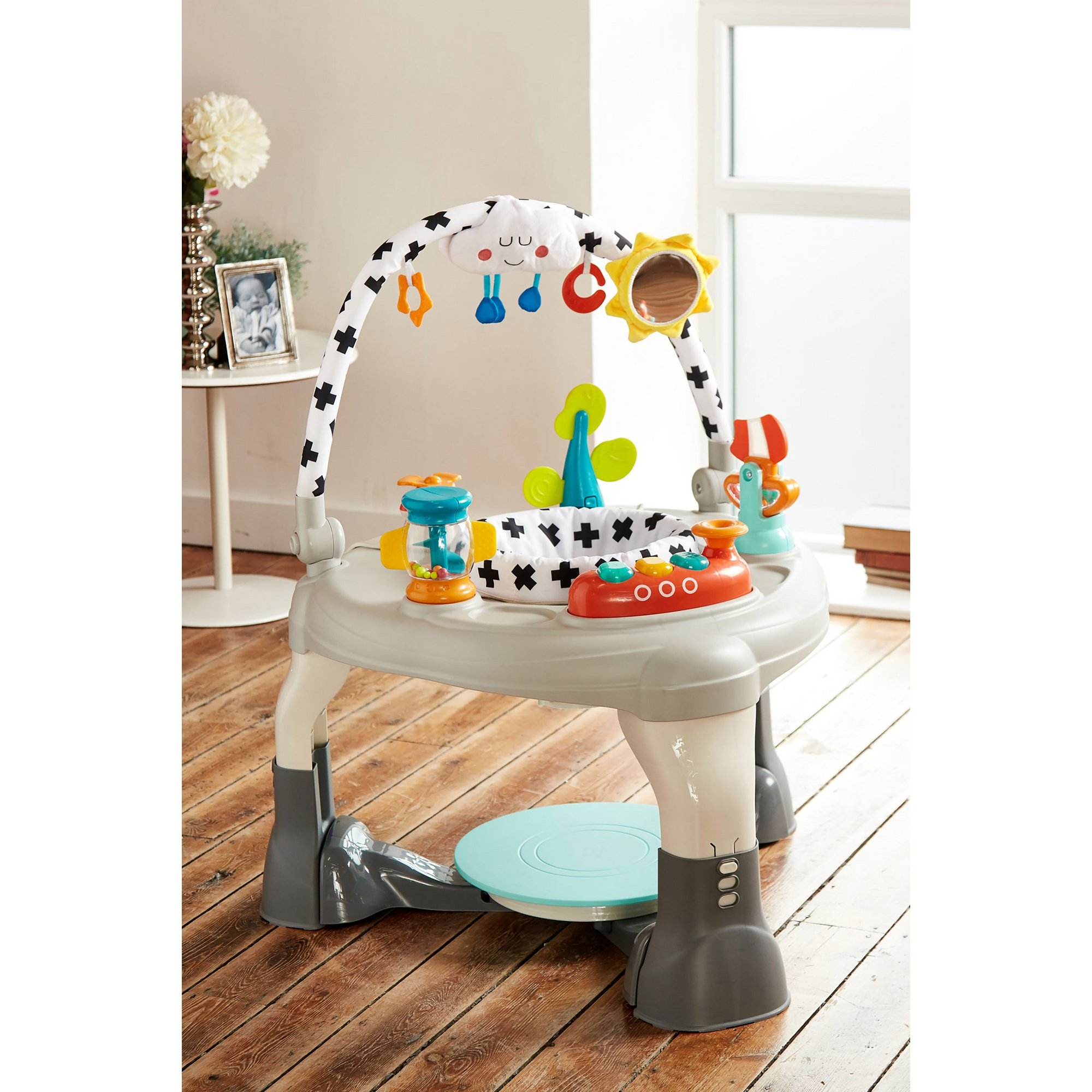 Image of Mychild 3-In-1 Activity Centre Bouncer and Play Table