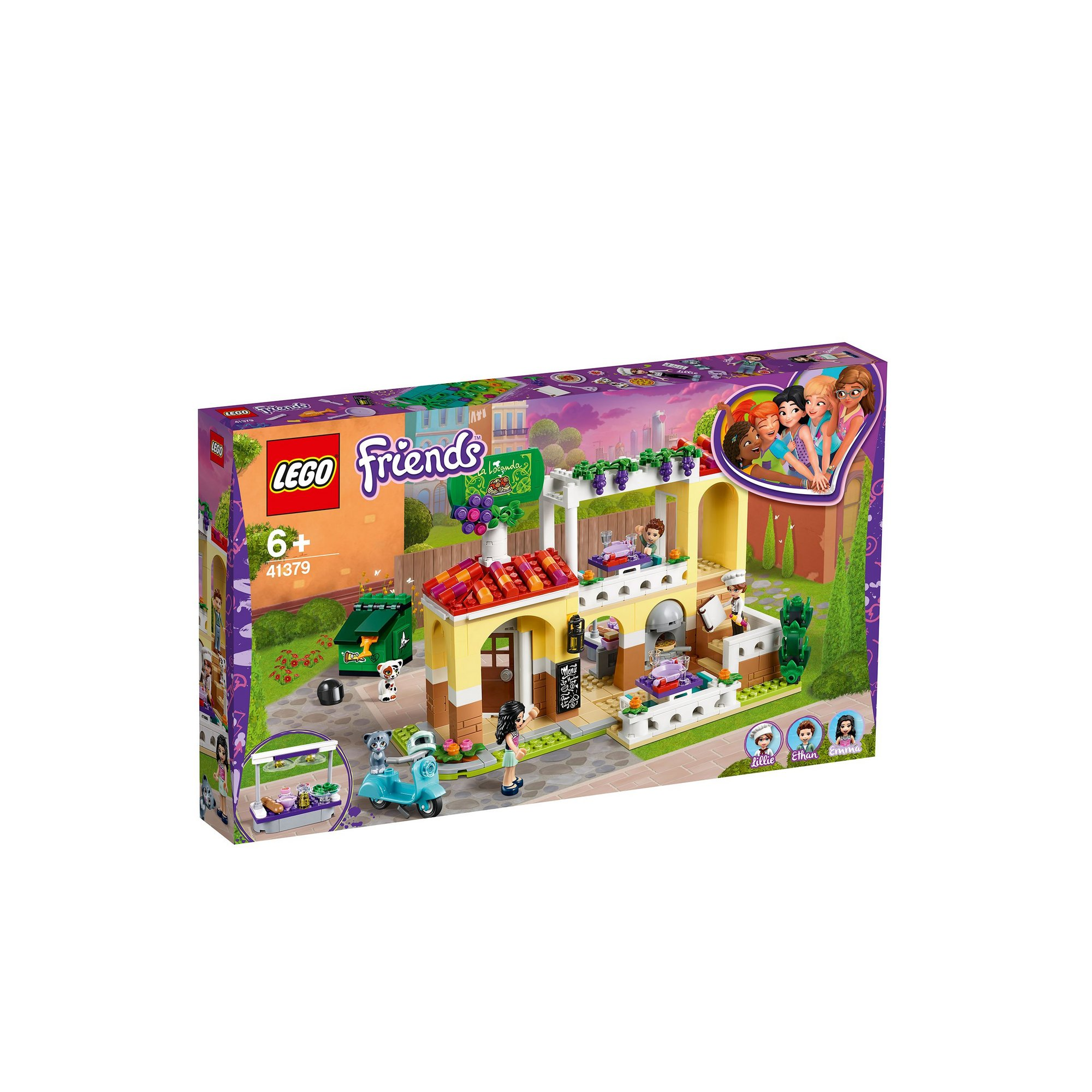Image of LEGO Friends Heartlake City Restaurant