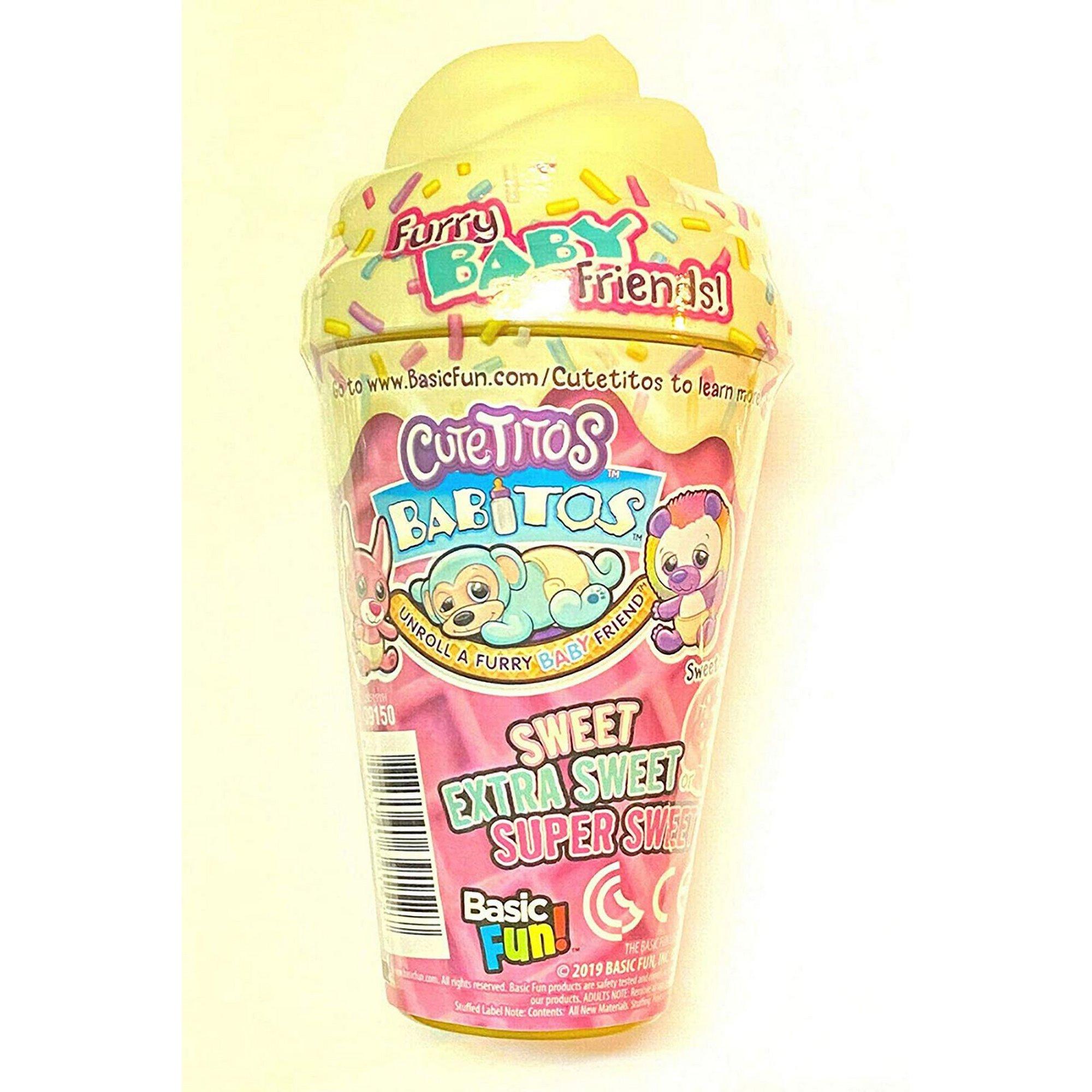 Image of Cutetitos Babitos Ice Creamitos Collectable Mystery Plush Toy - A...