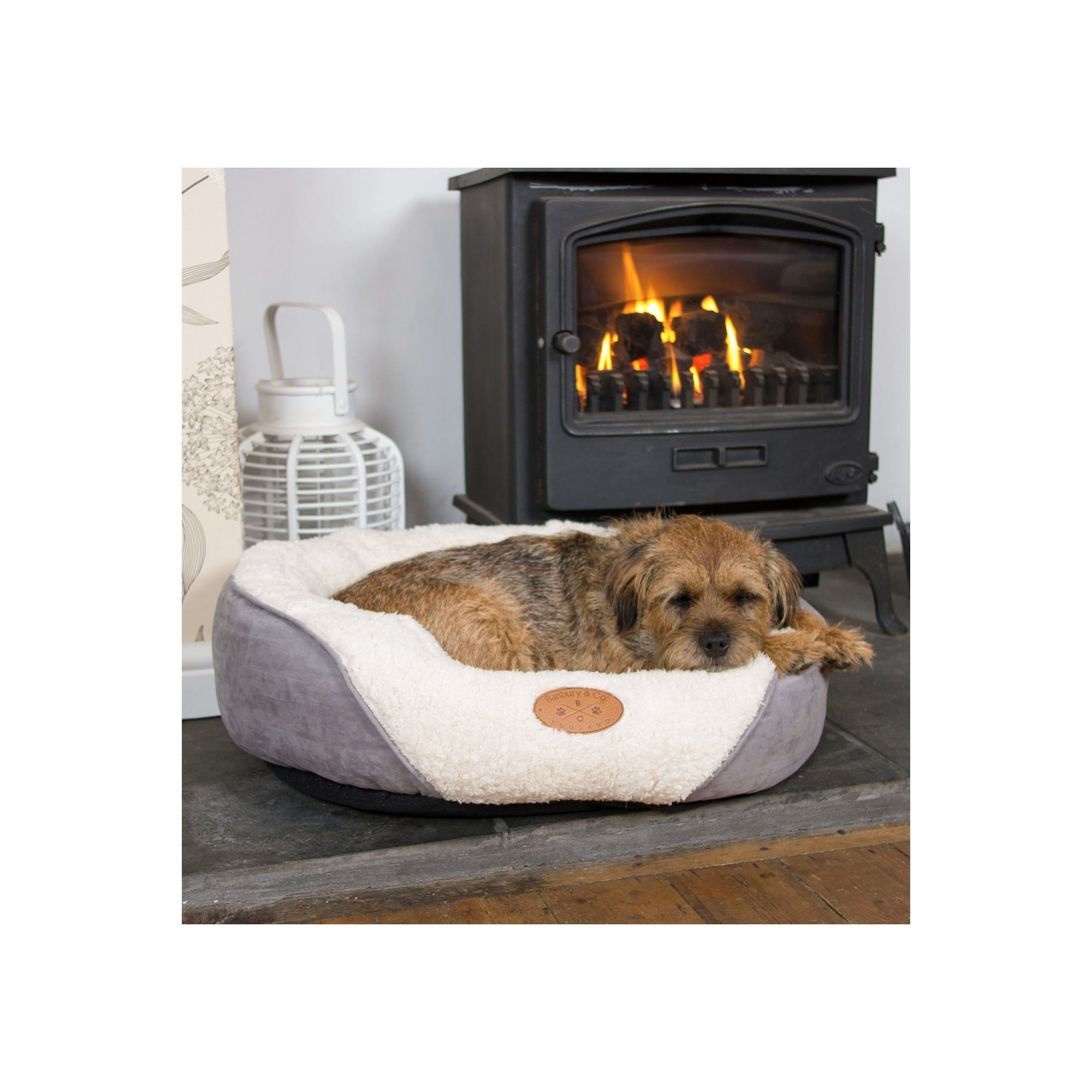 Image of Banbury and Co Luxury Cosy Dog Bed-Small