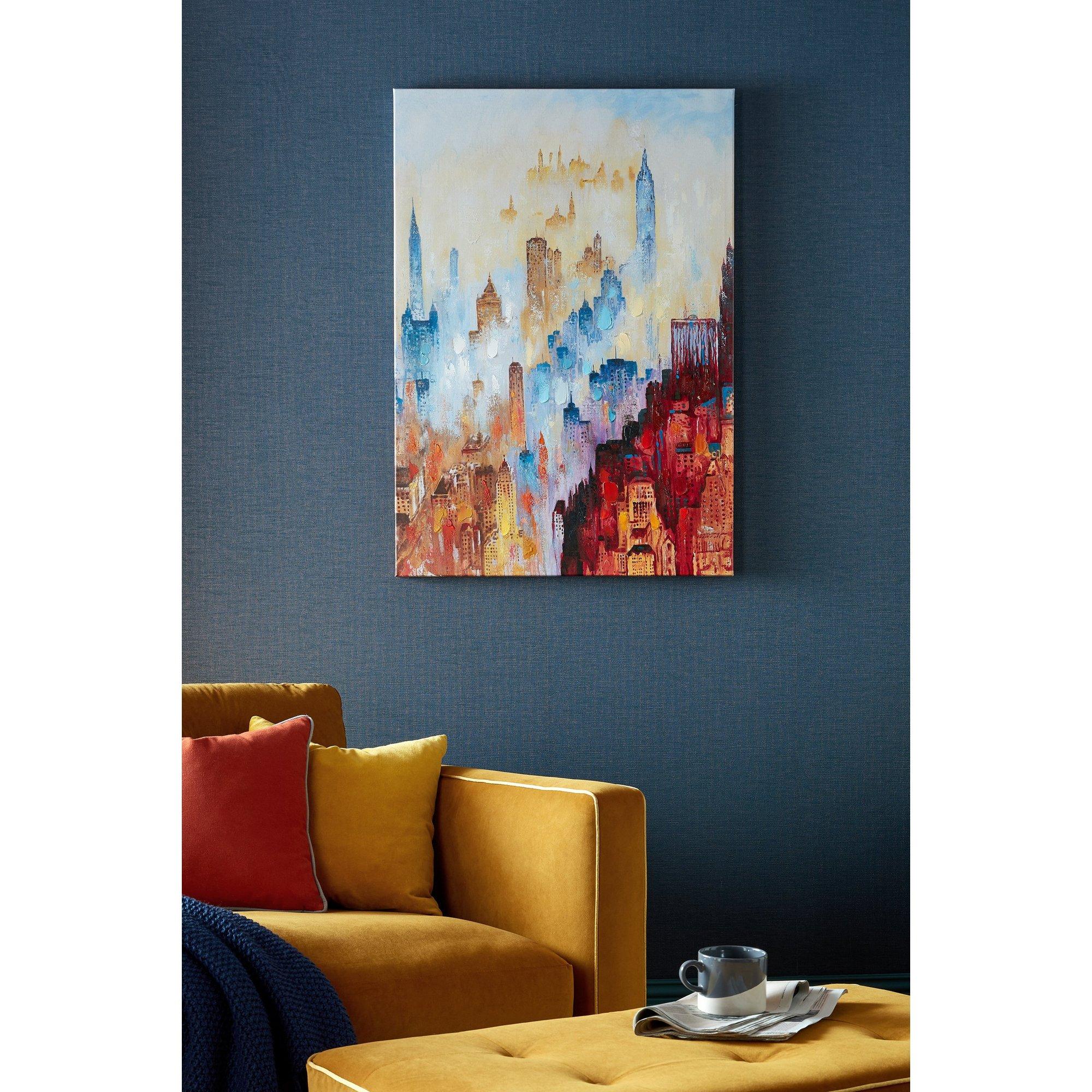 Image of City of Dreams Printed Canvas