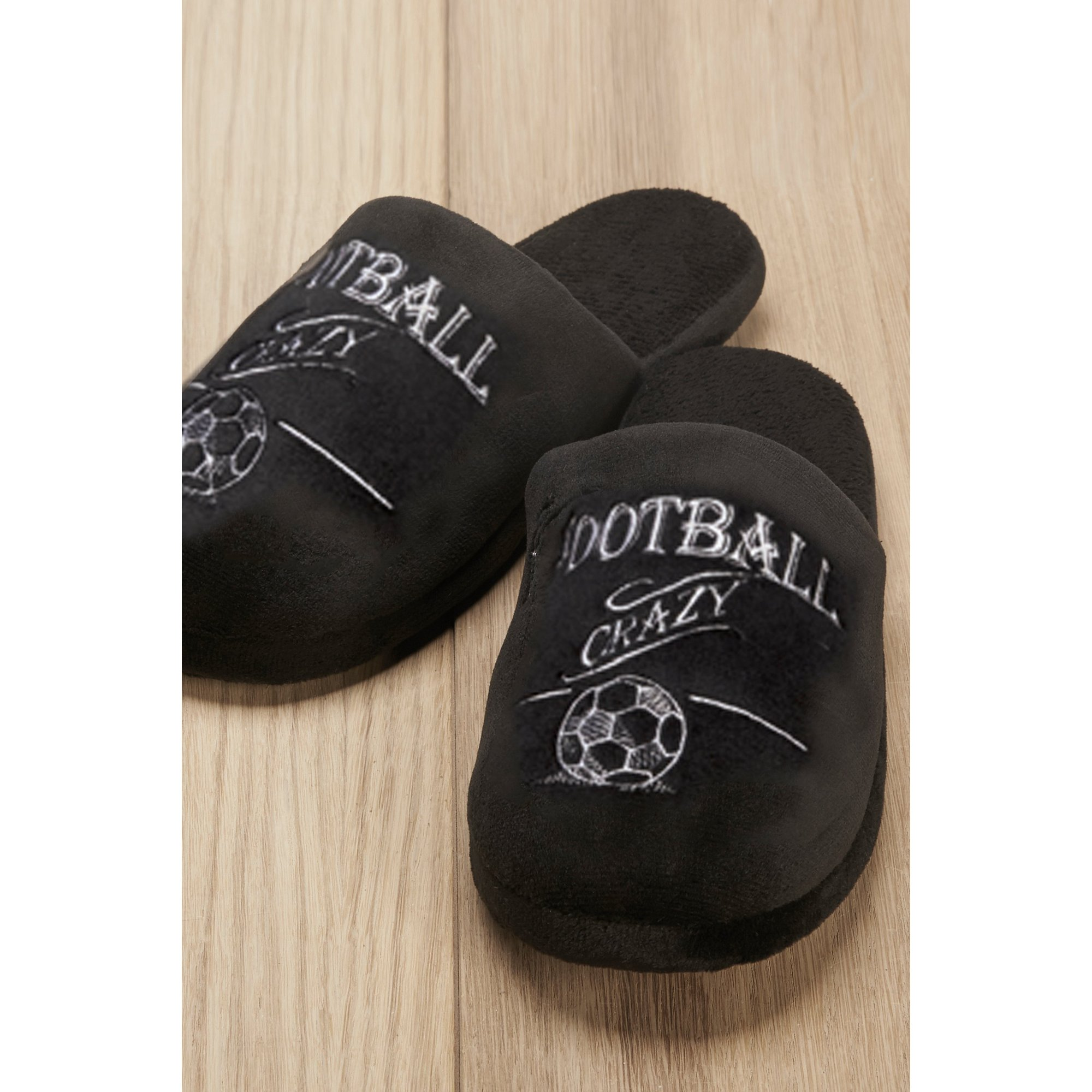 Image of Football Crazy Slippers