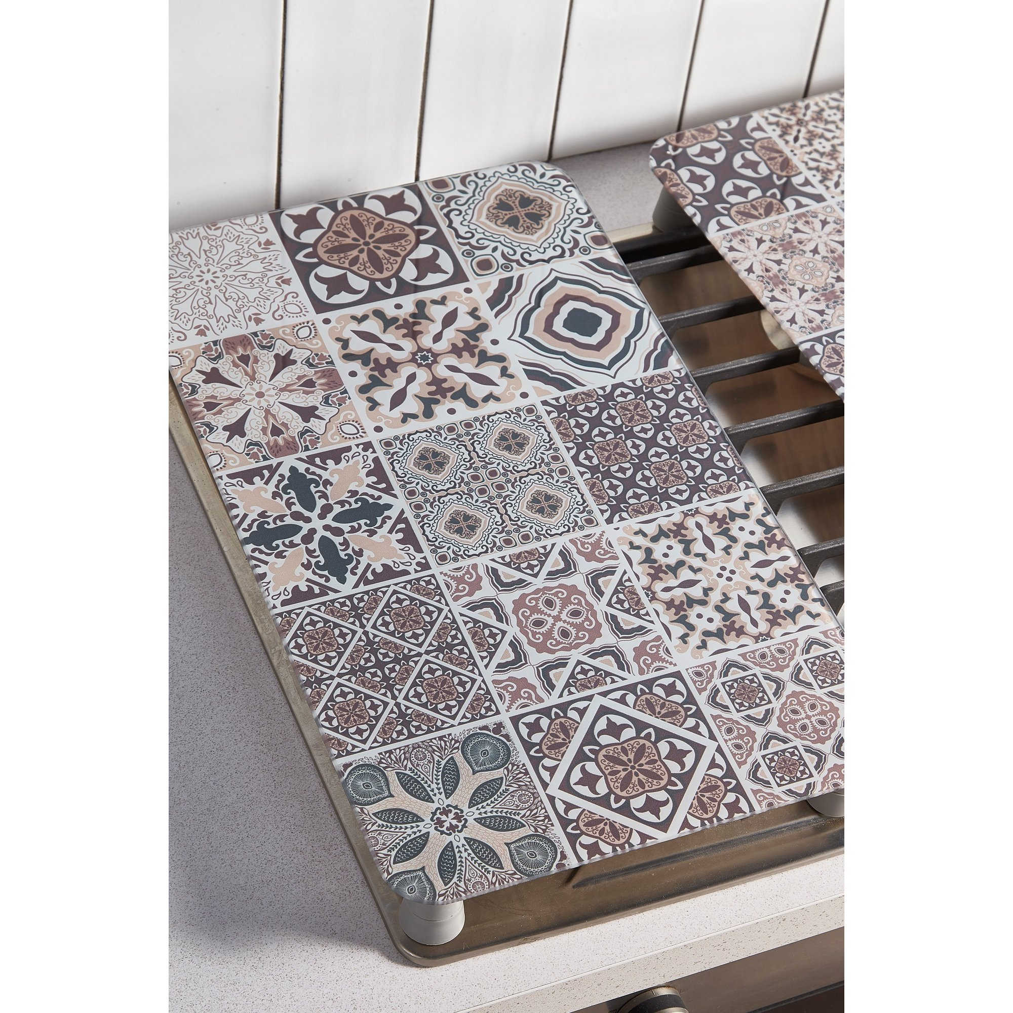 Image of Moroccan Tile Hob Cover Plates