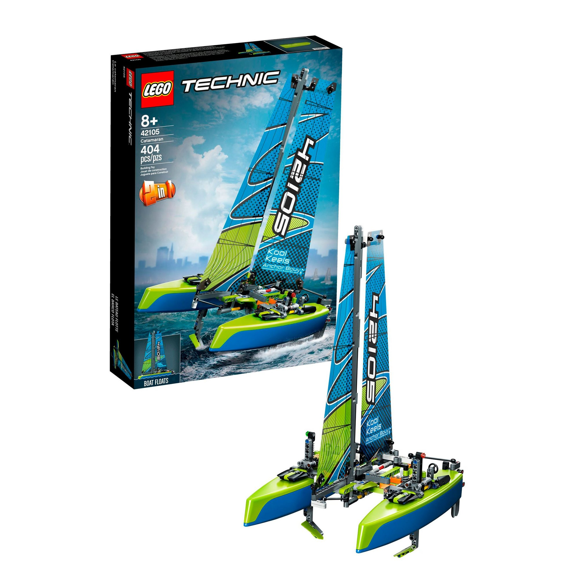 Image of LEGO Technic Catamaran