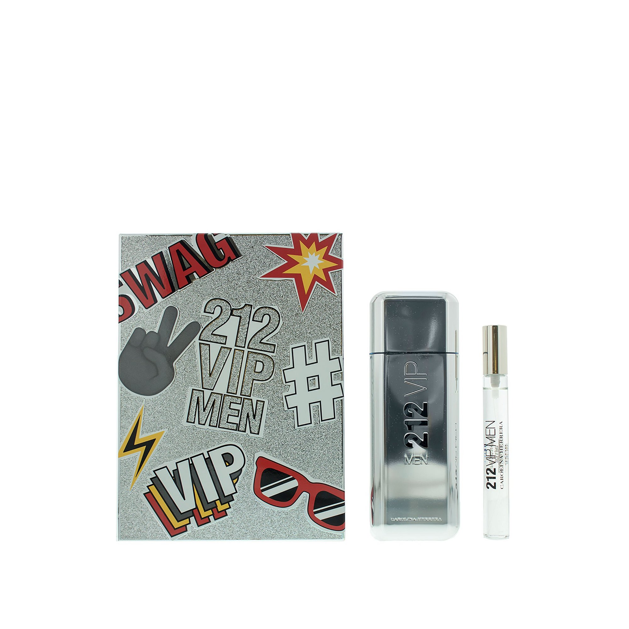 Image of Carolina Herrera 212 VIP Men 100ml EDT Gift Set
