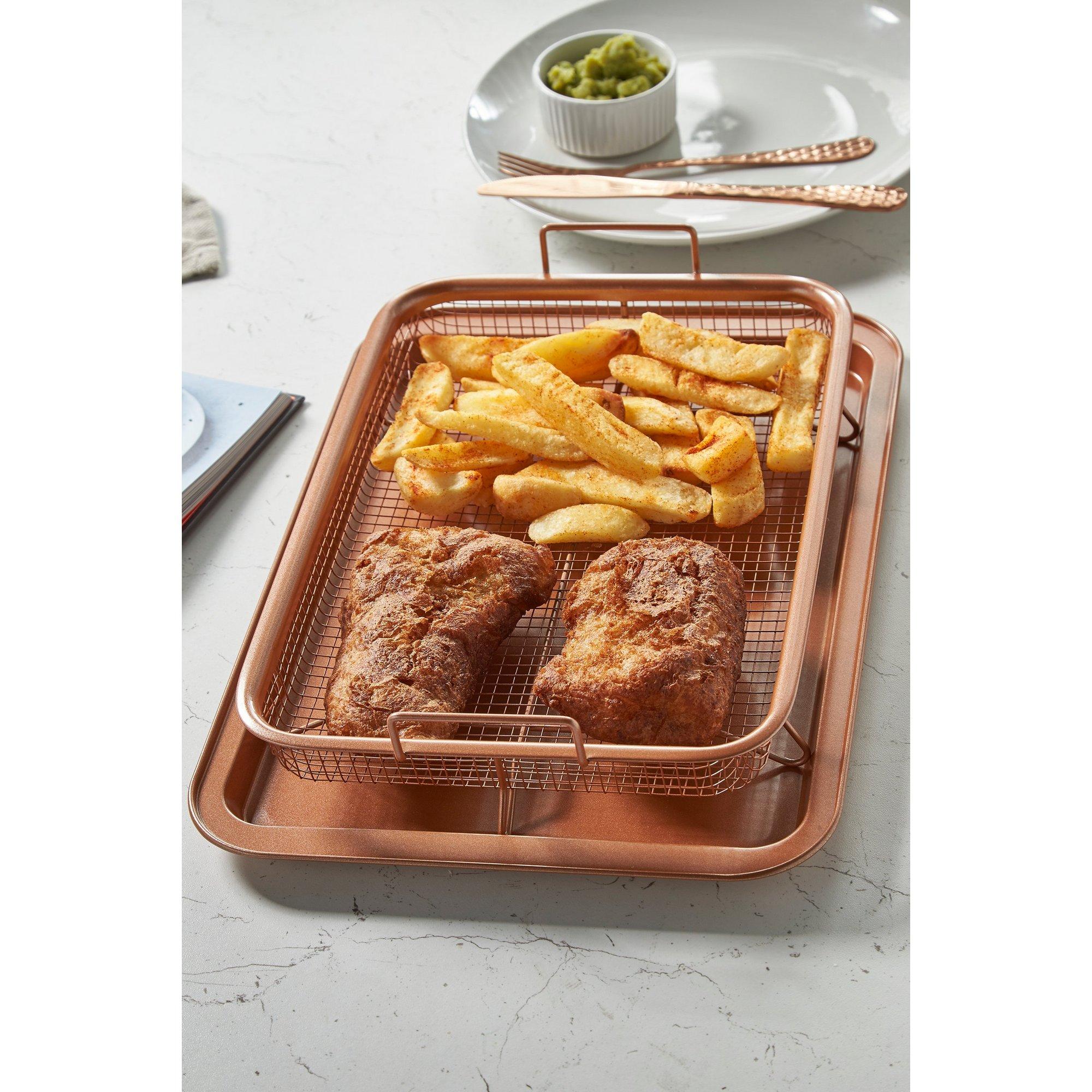 Image of Family Size Copper Cook Crisper Tray