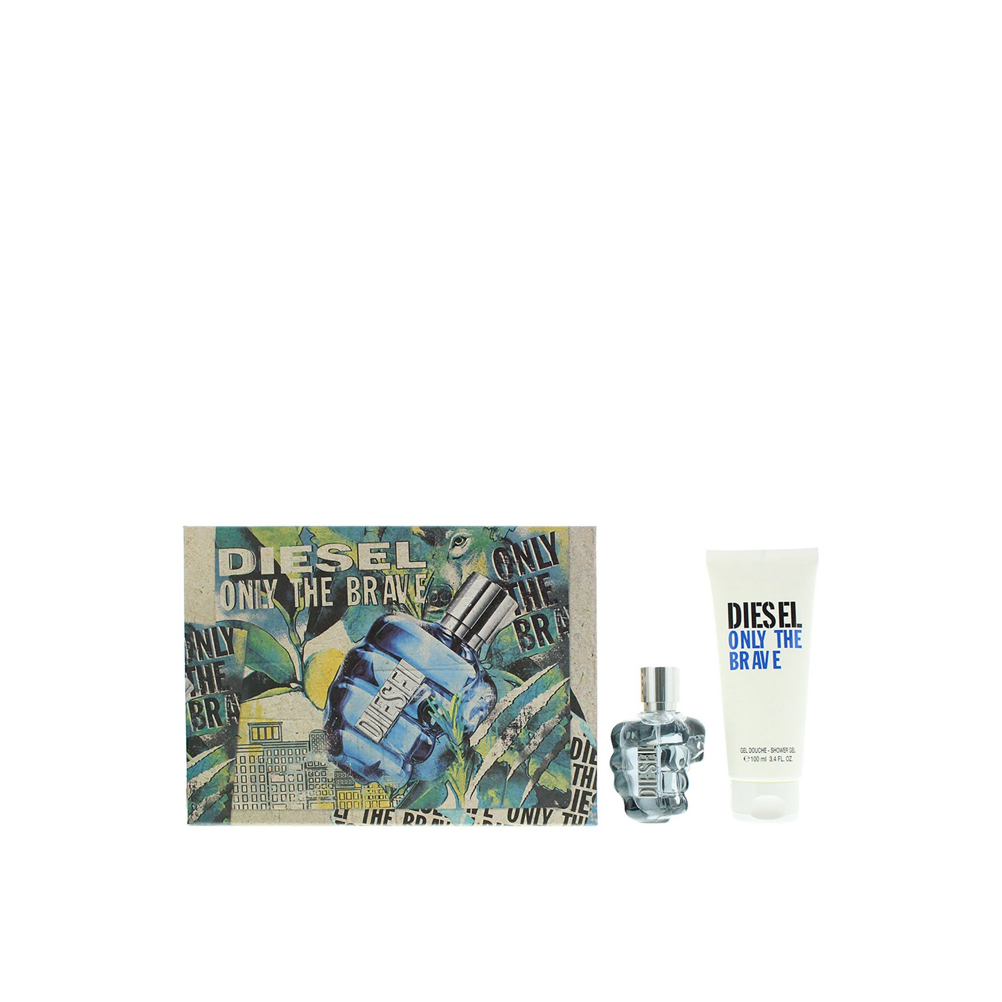 Image of Diesel Only The Brave 50ml EDT Gift Set