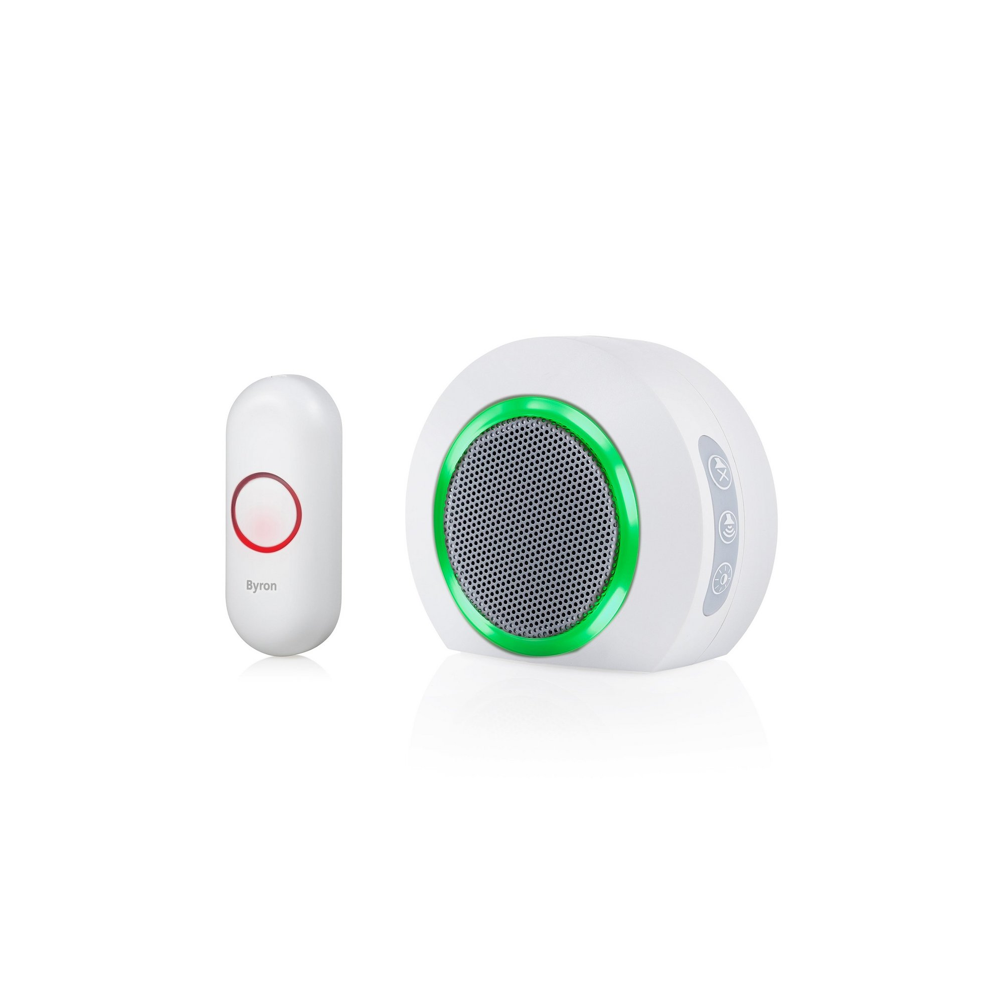 Image of Byron Wireless Plug-In Doorbell Set