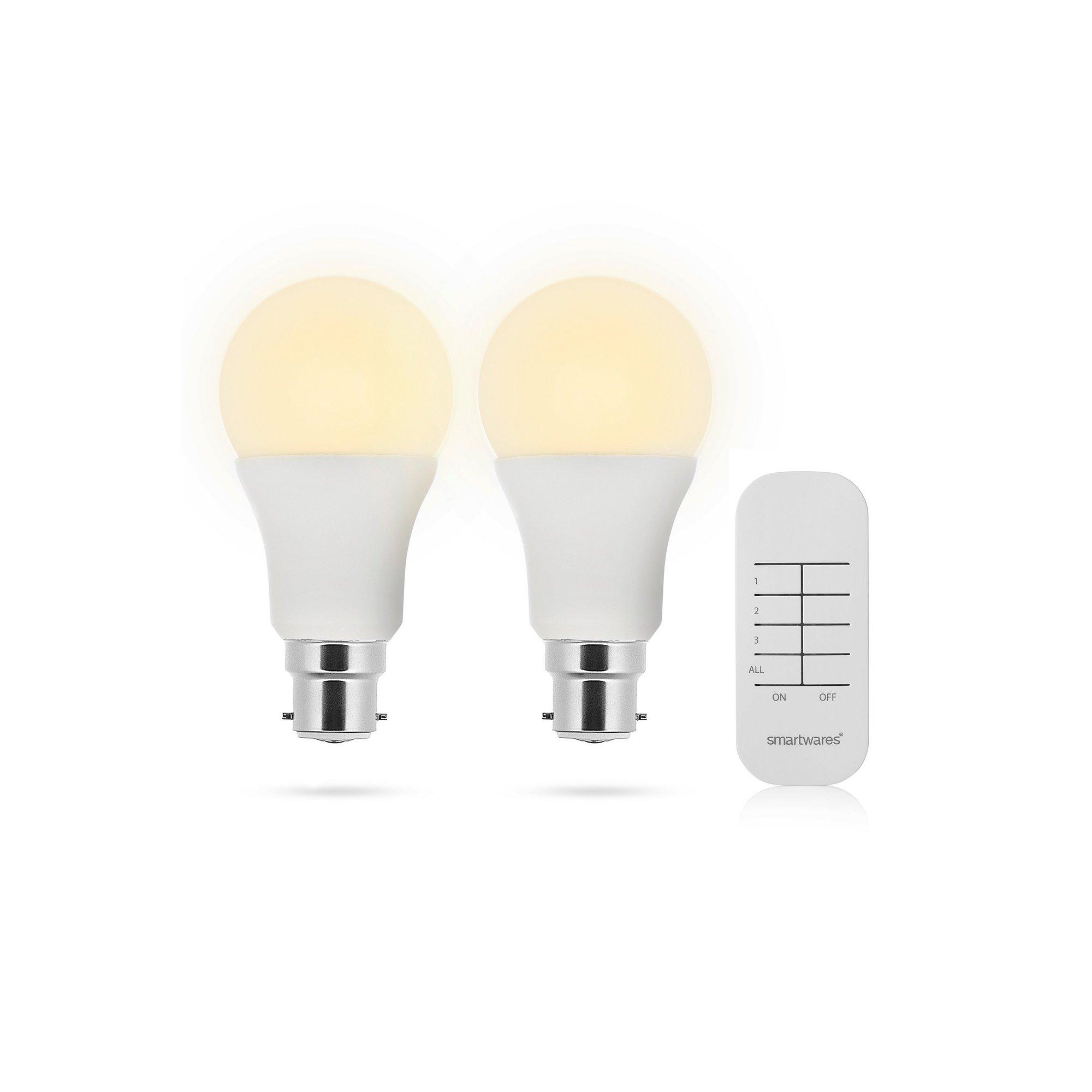Image of Smartwares LED Lightbulb with Remote
