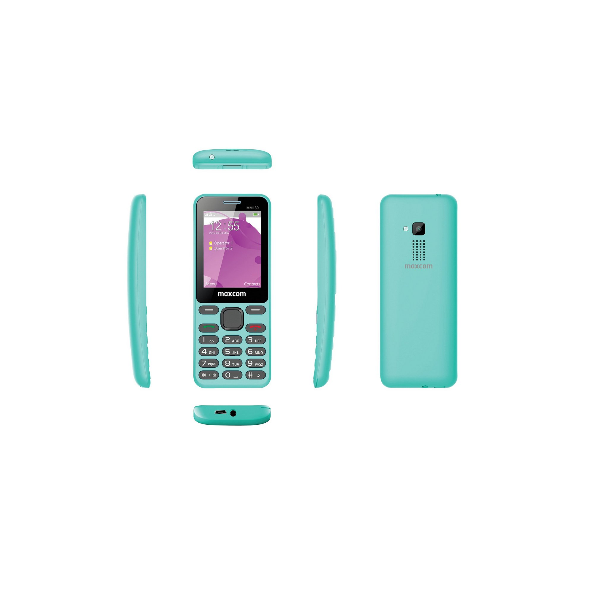 Image of Maxcom Classic MM139 2G Mobile Phone