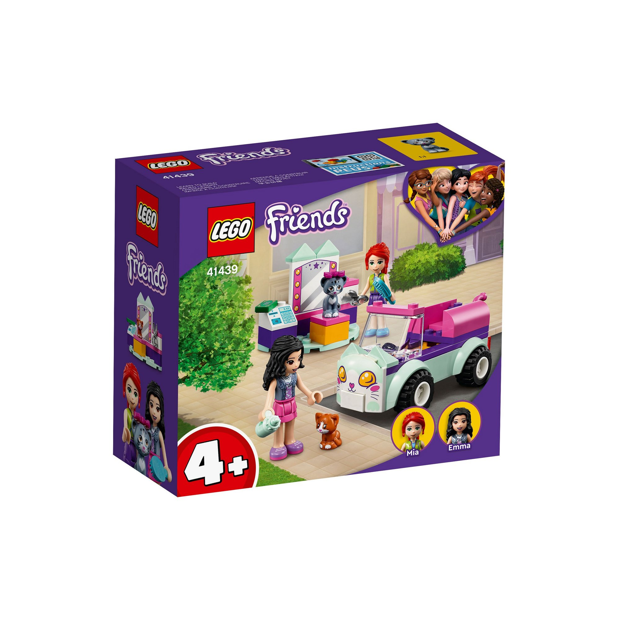Image of LEGO Friends Cat Grooming Car